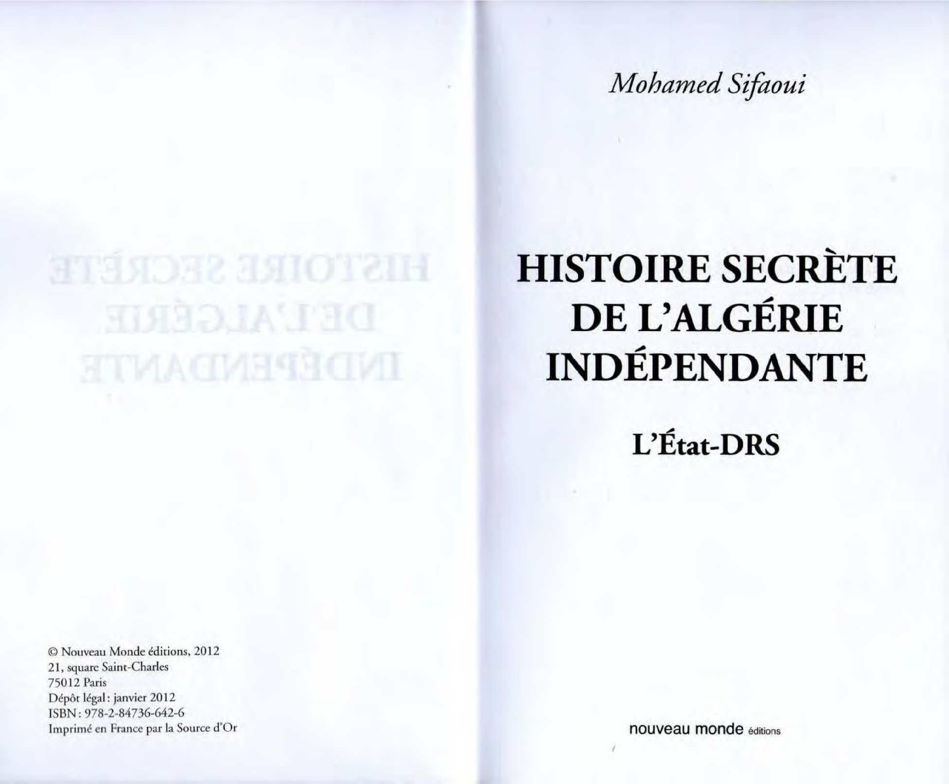 Calaméo - histoire secrete de l algerie 0b14bd47d2c0