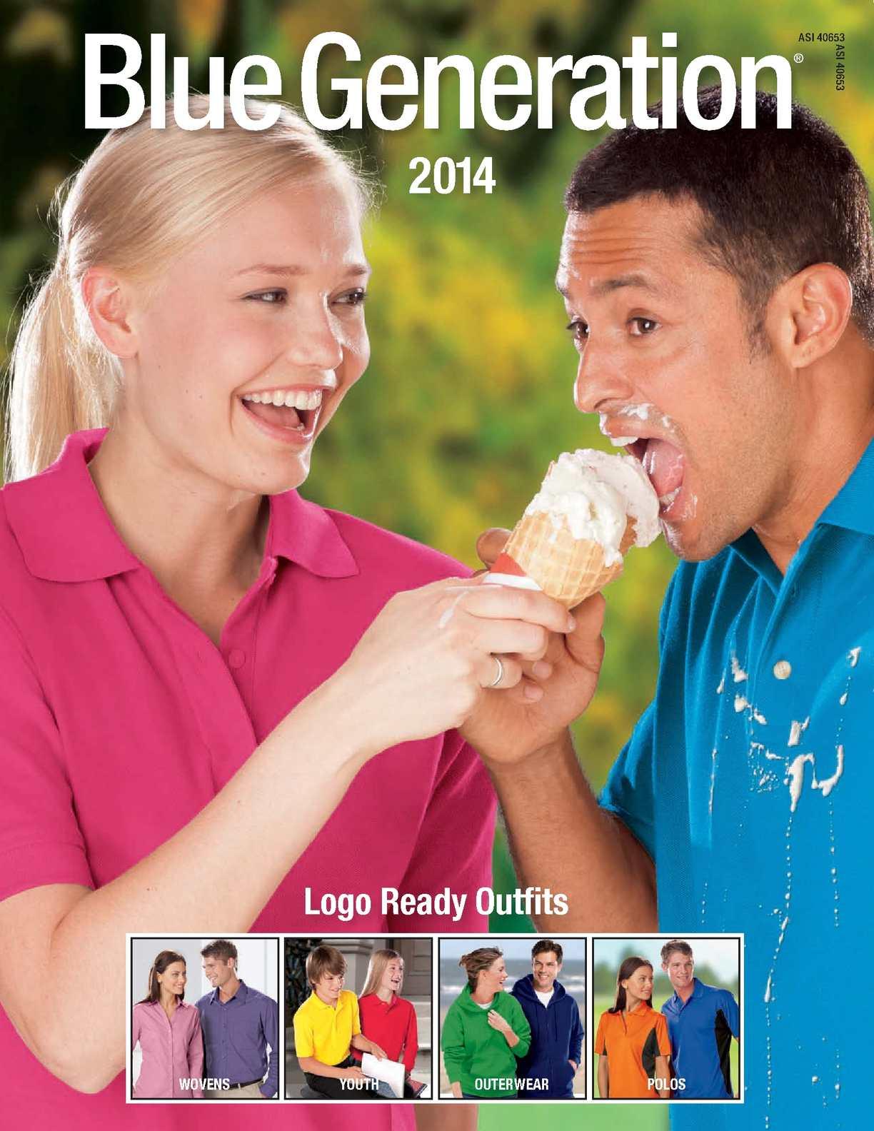 8XL, Pink Blue Generation BG2201 Short Sleeve Cotton Polos-Polo Shirts