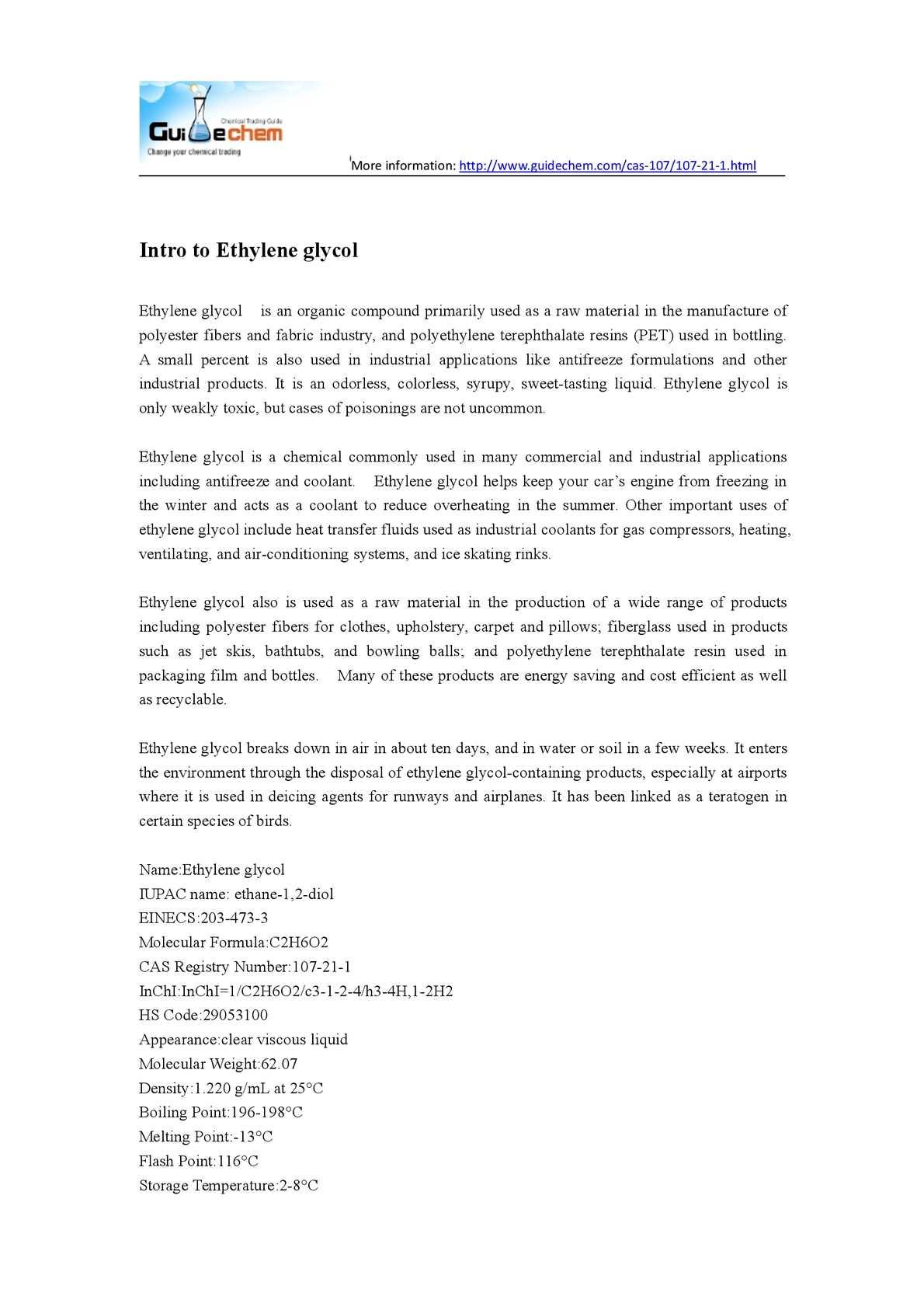 Calaméo - Intro to Ethylene glycol