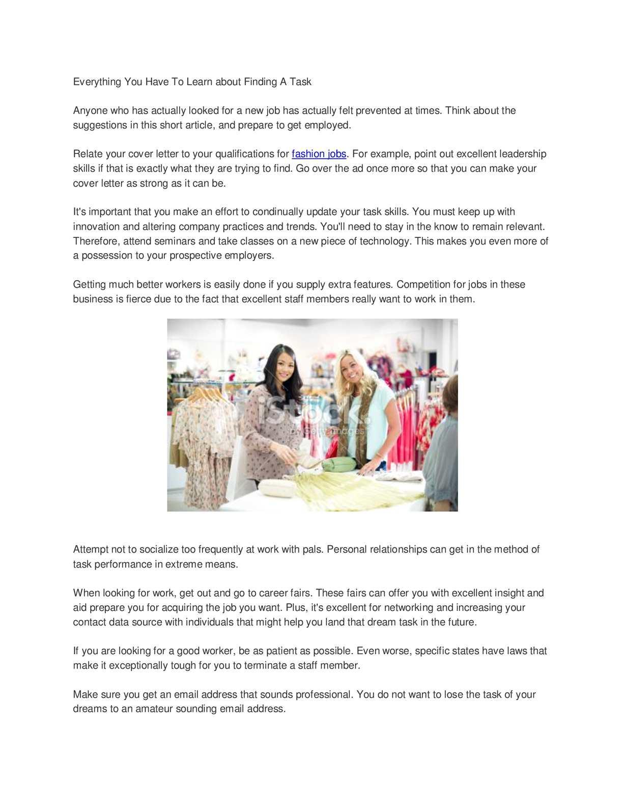 Calaméo - fashion jobs