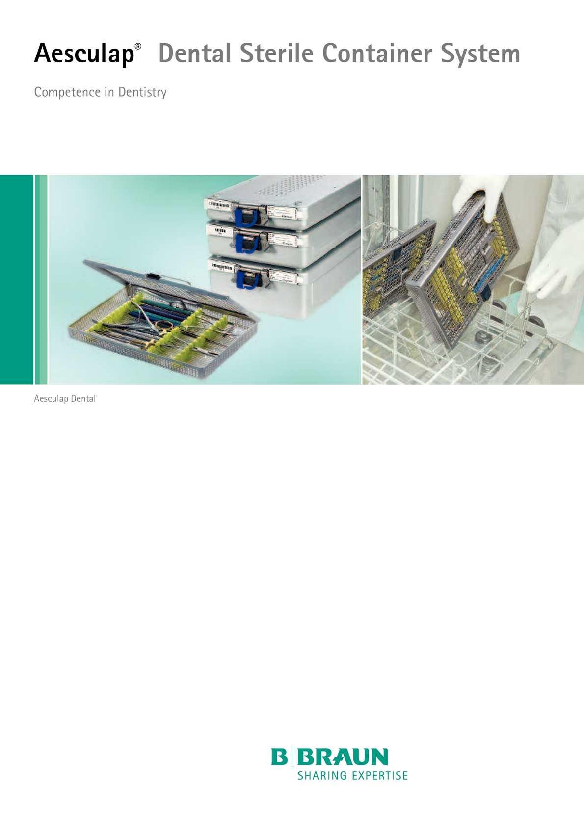 Calaméo - Esterilizacion Cajas y Containers Dental AESCULAP