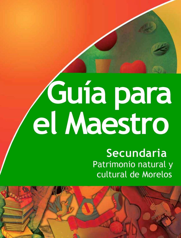 Calaméo - Guia para el Maestro Patrimonio cultural y ...
