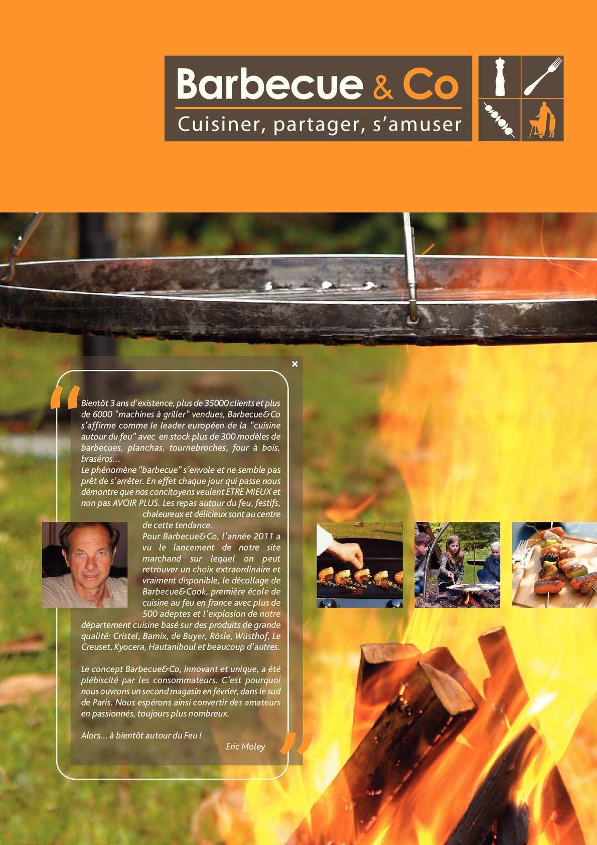 Barbecue & Co Feucherolles calaméo - barbecue&co s'affirme comme le leader européen de