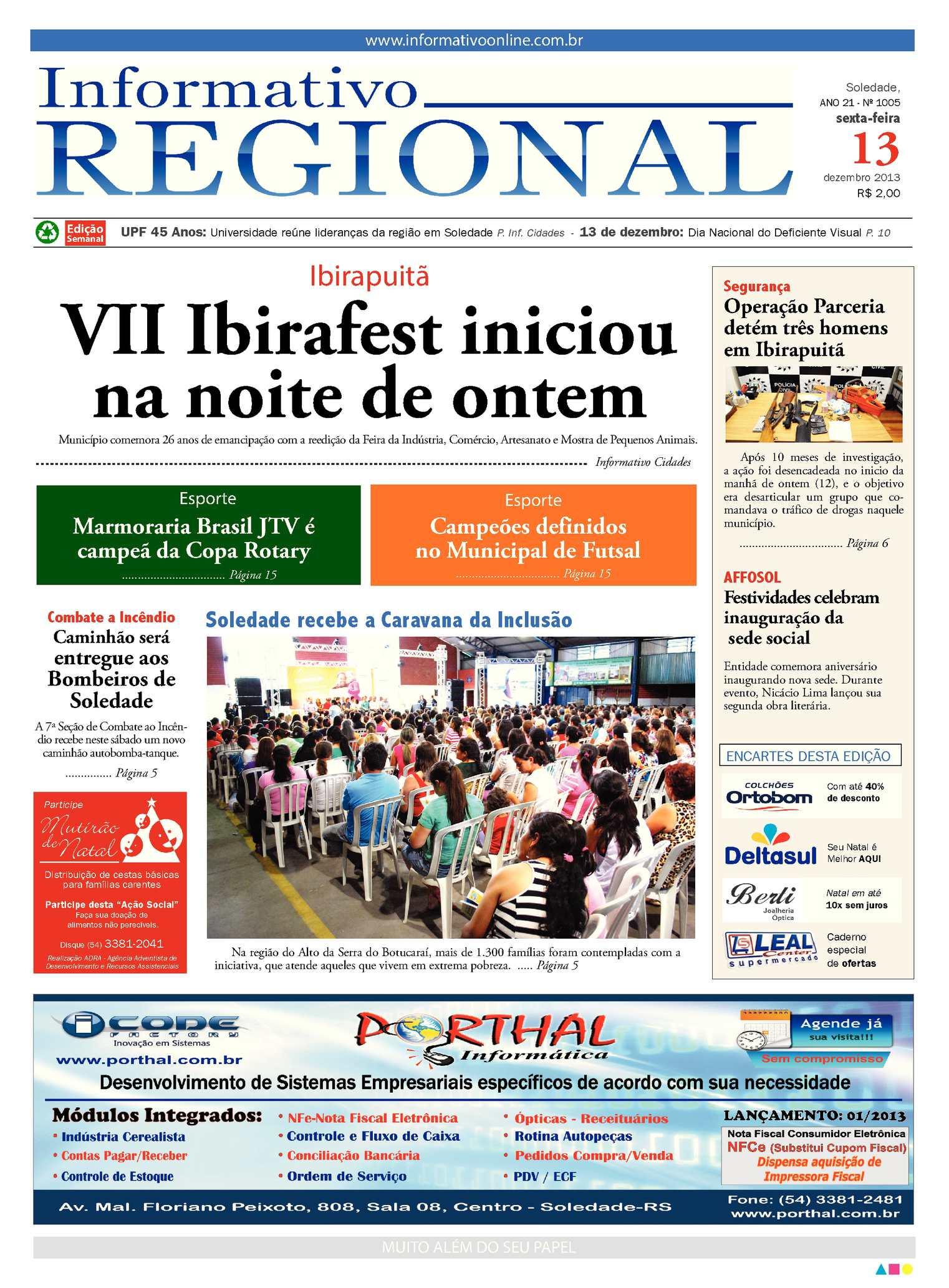 Calaméo - Informativo Regional 1005 f64e2dc3e3