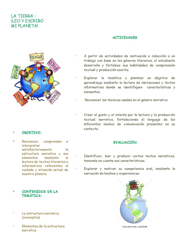 Calaméo La Estructura Narrativa