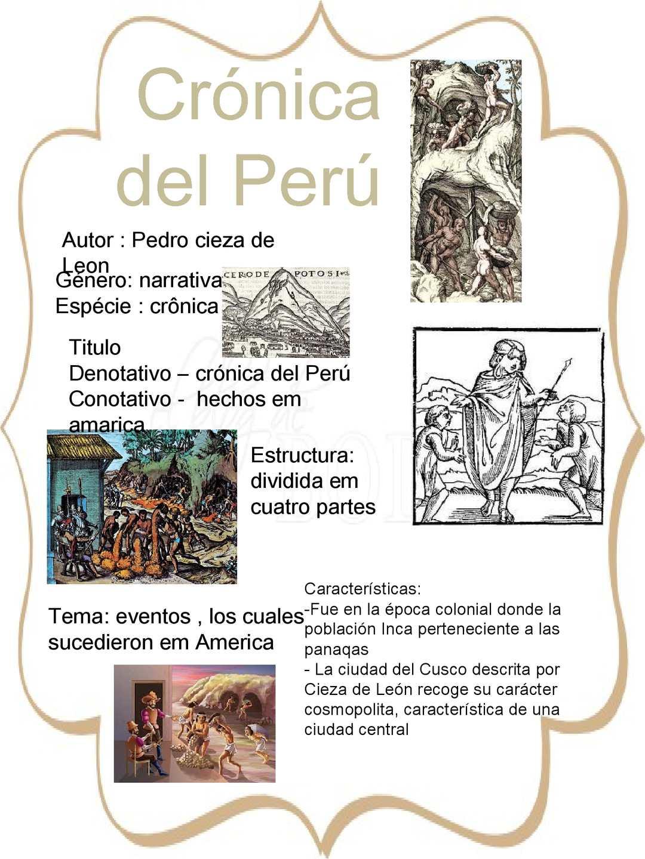 Calaméo Crónica Del Perú