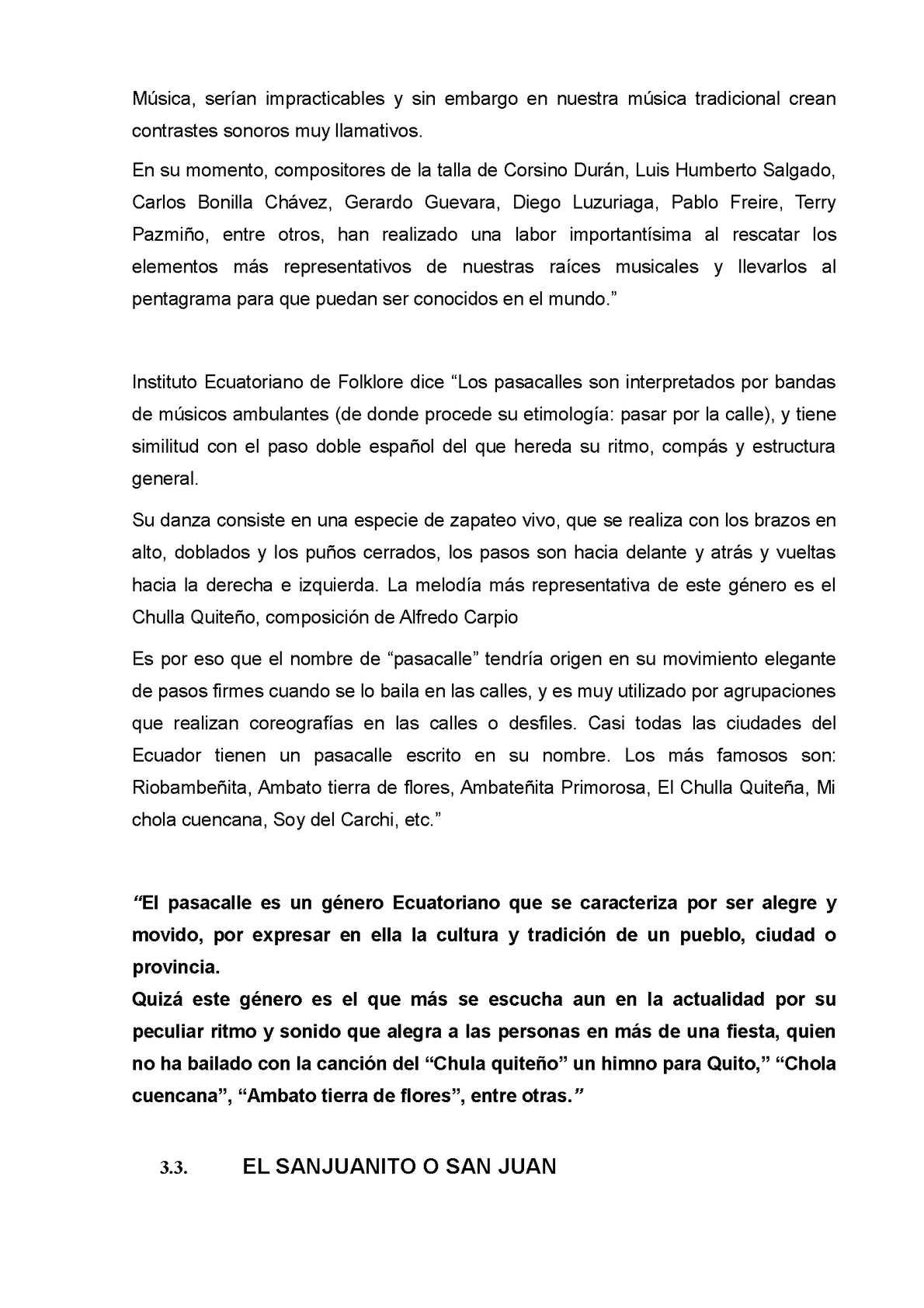 Influencia De La Música Nacional Ecuatoriana Calameo