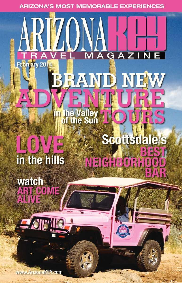 Calaméo - Arizona KEY Travel Magazine FEBRUARY 2014 Issue