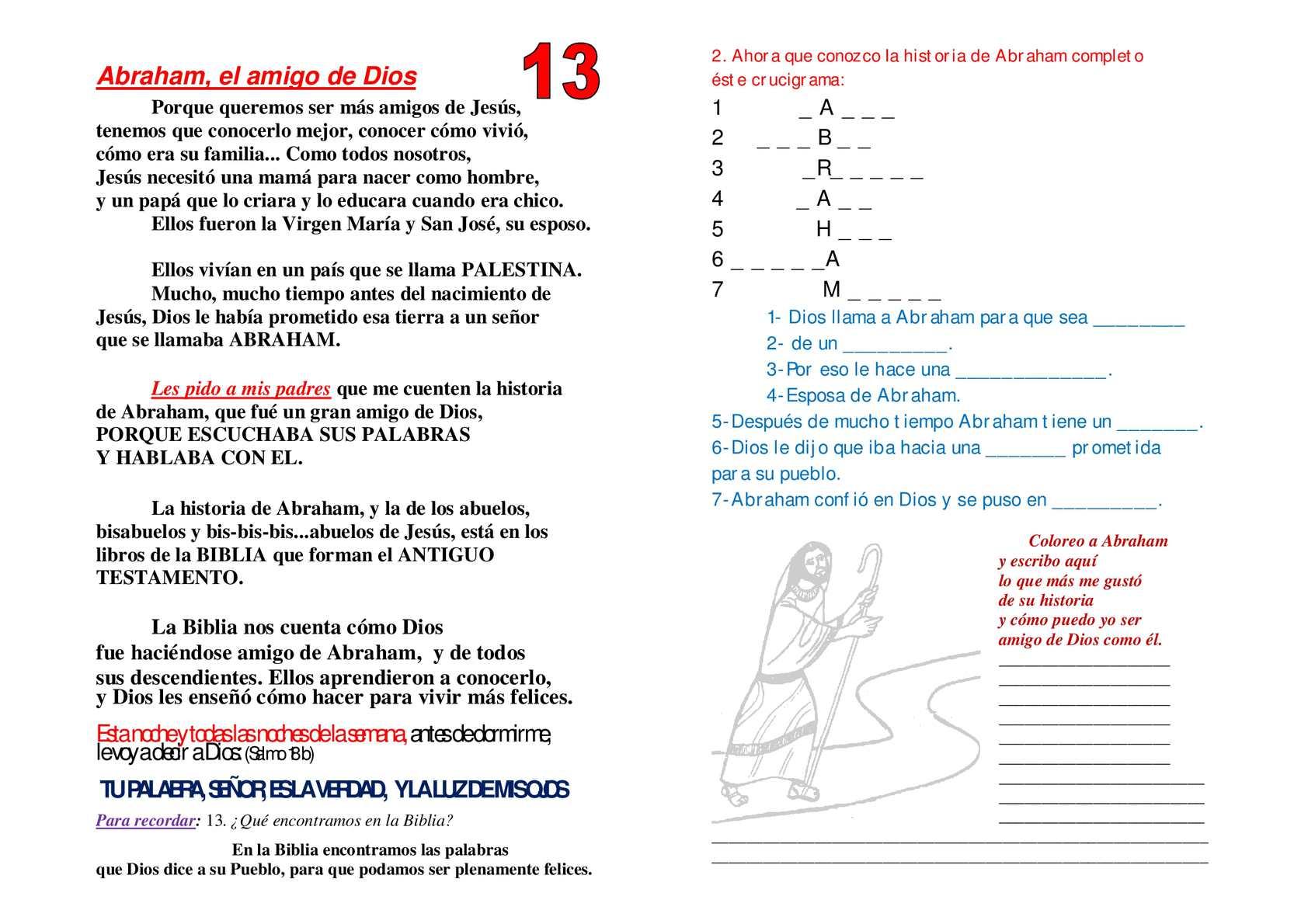 Calameo Fichas Para Ninos 13 16b