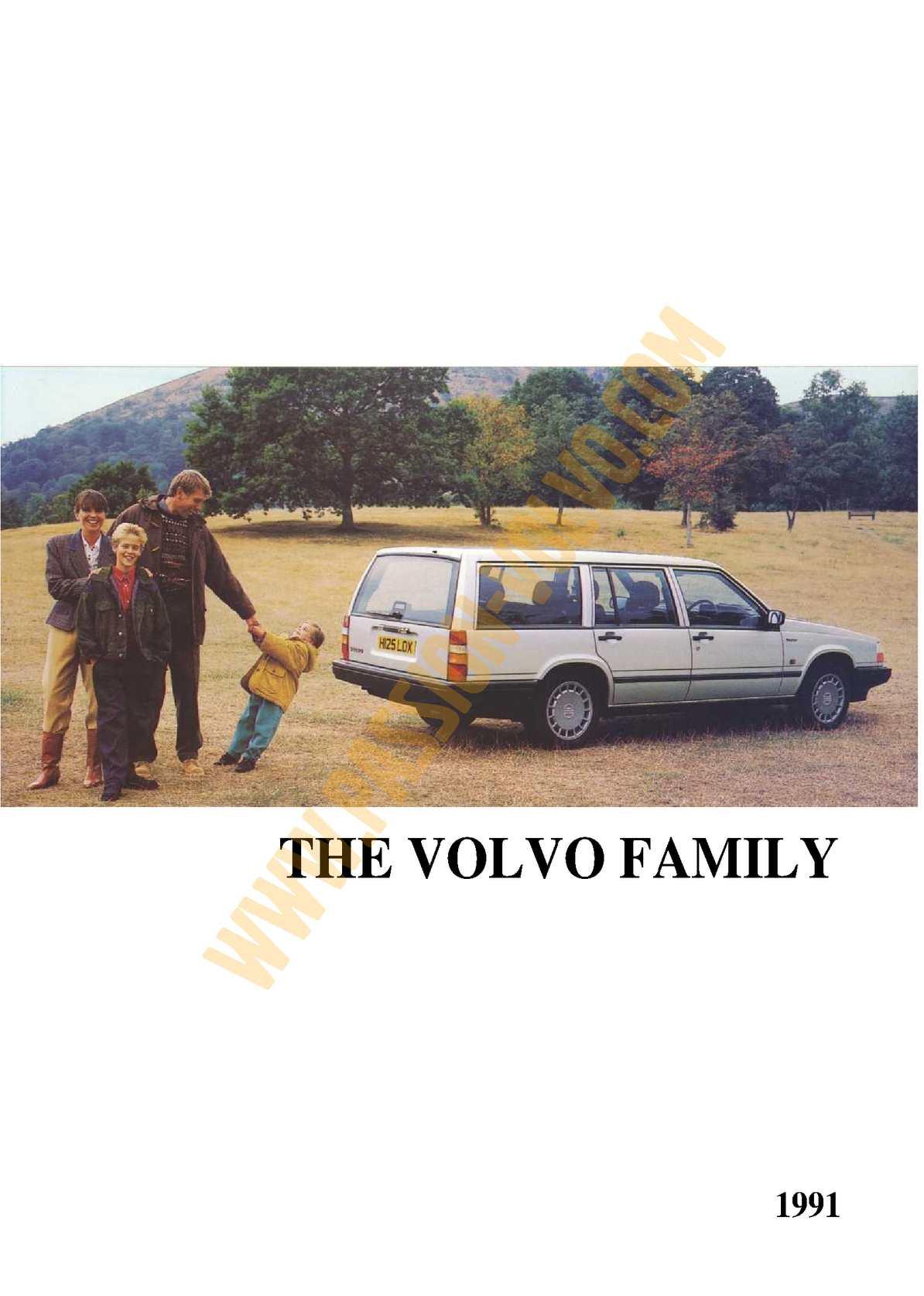 Volvo 1991 Présentation Gamme Complète Anglais 13