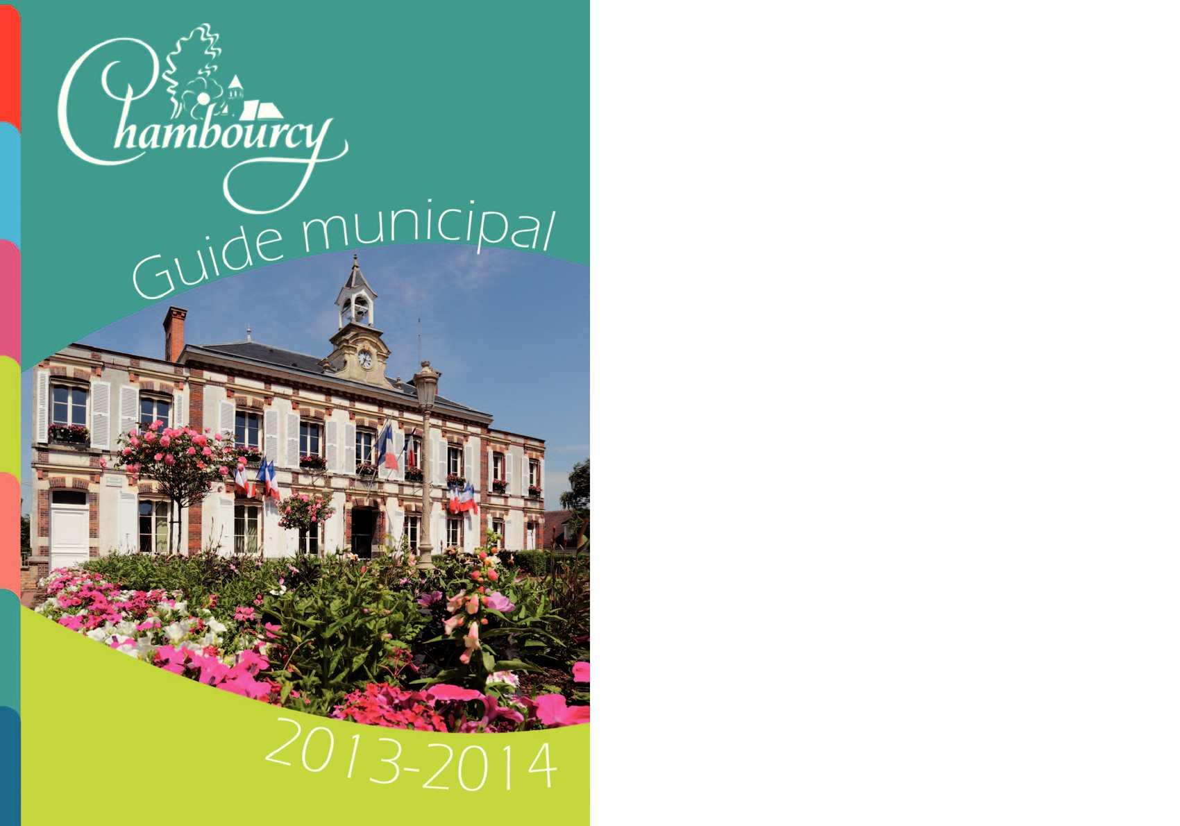 Calameo Guide Municipal Chambourcy 2013 2014