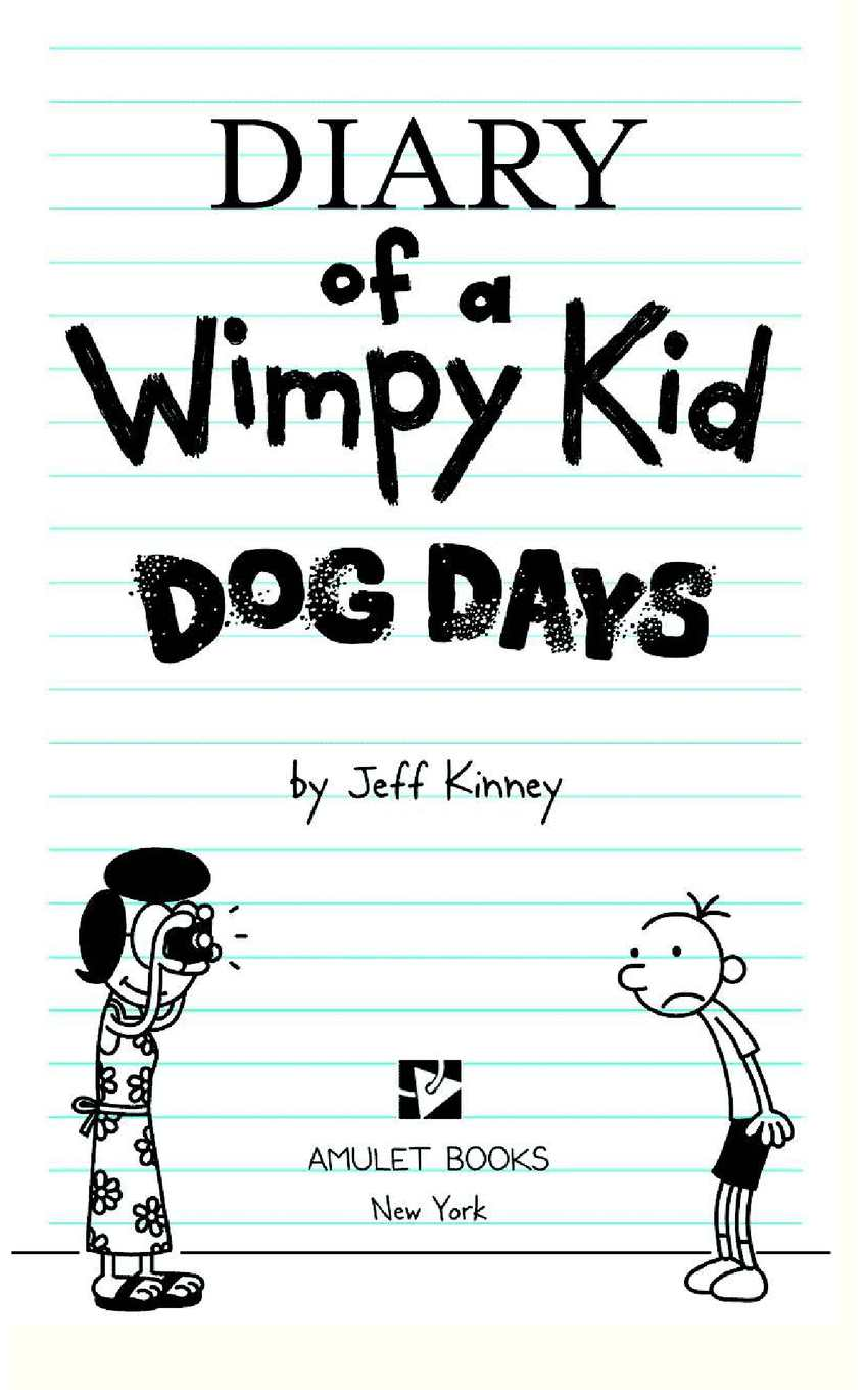 Diary Of A Wimpy Kid 4 Dog Days Calameo Downloader