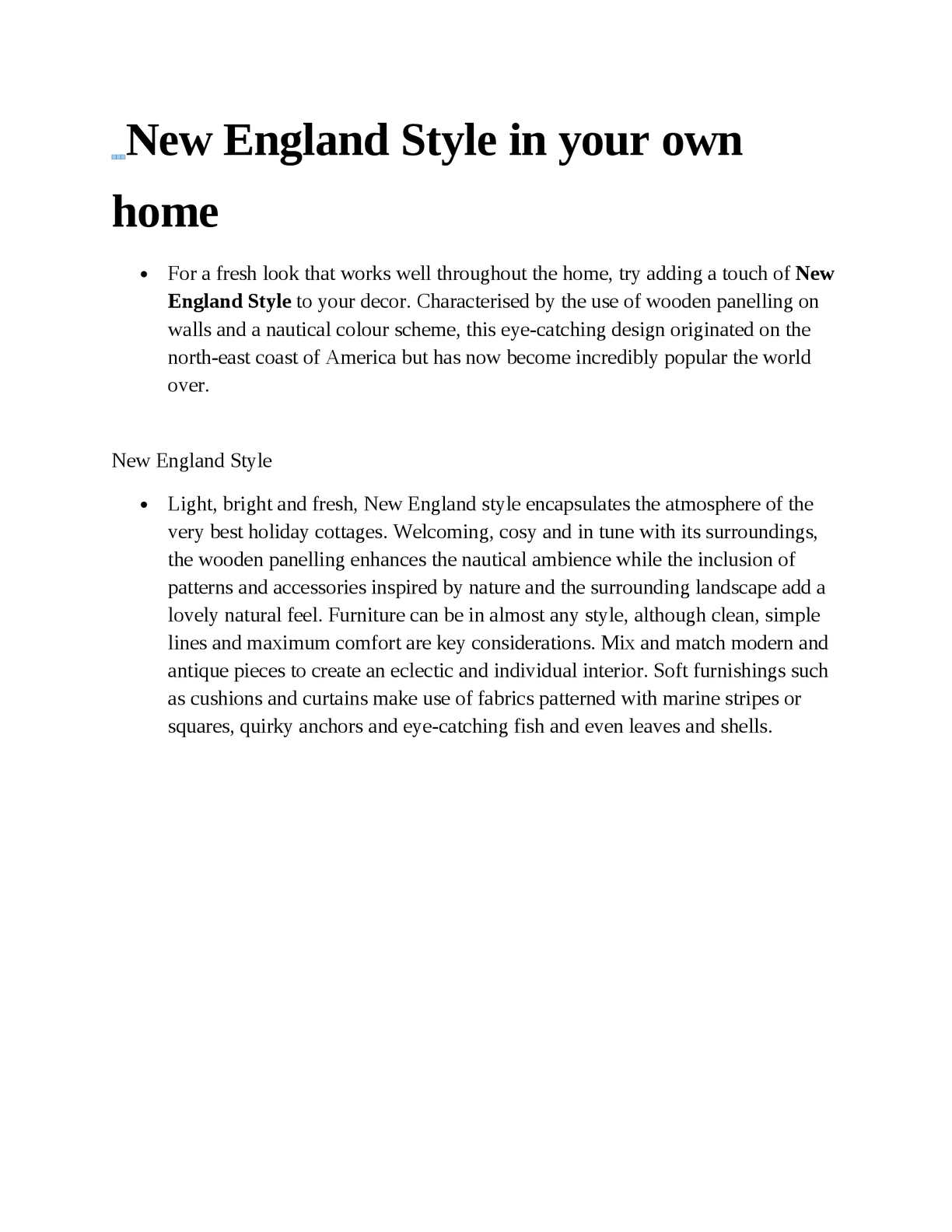 Calameo Create The New England Style In Your Own Home
