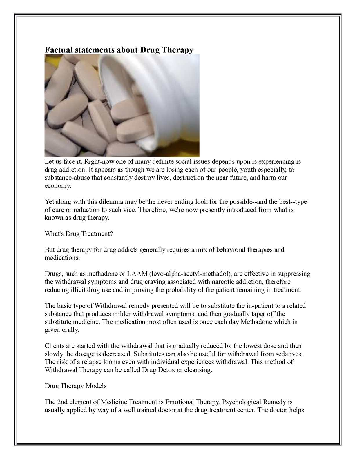 Calaméo - Factual statements about Drug Therap