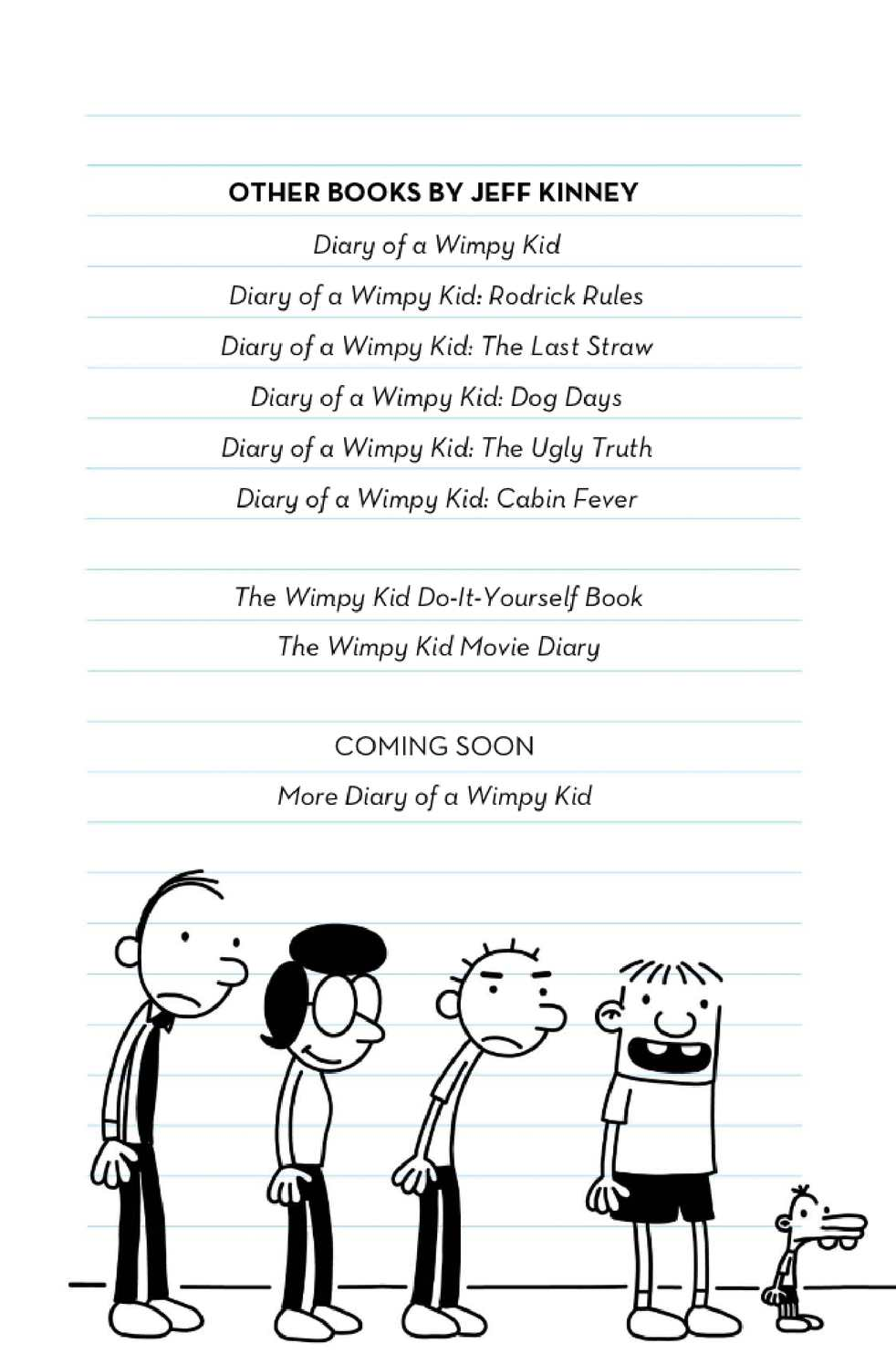 Diary Of A Wimpy Kid 7 The Third Wheel Calameo Downloader