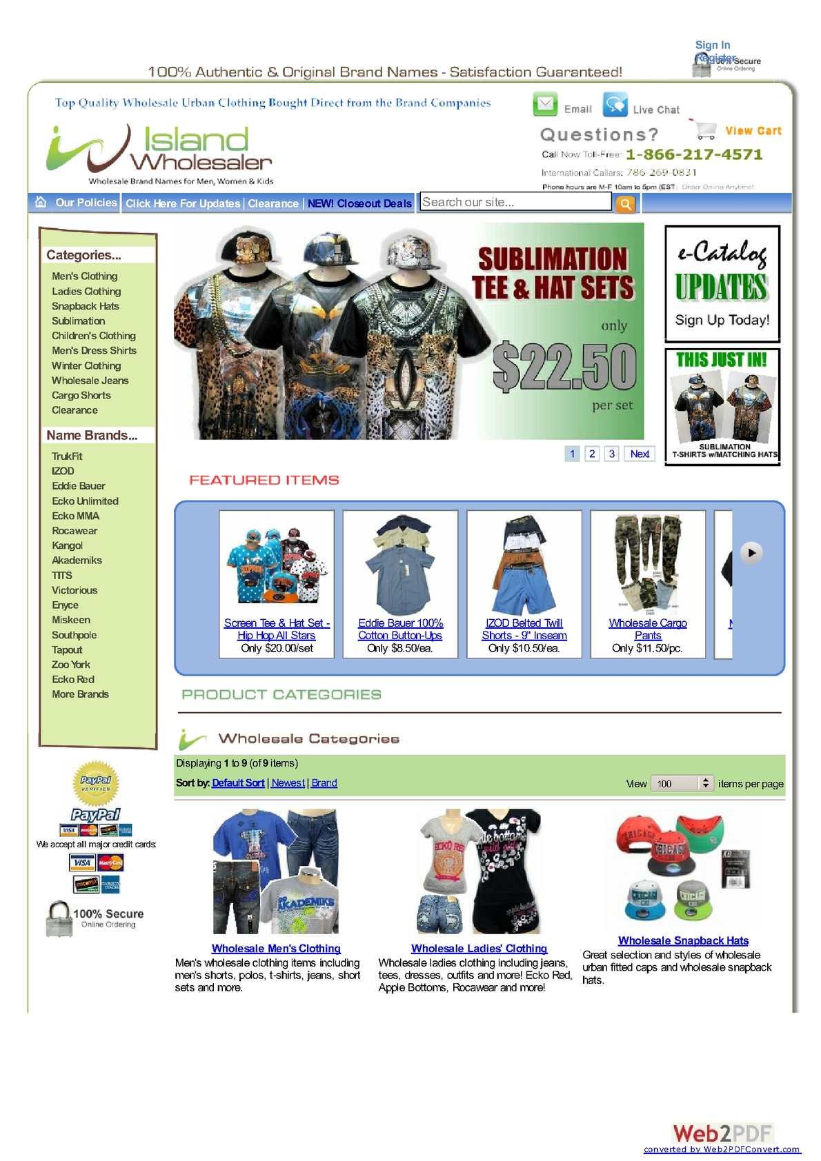 Calaméo - Buy wholesale urban wear clothing, men's clothing