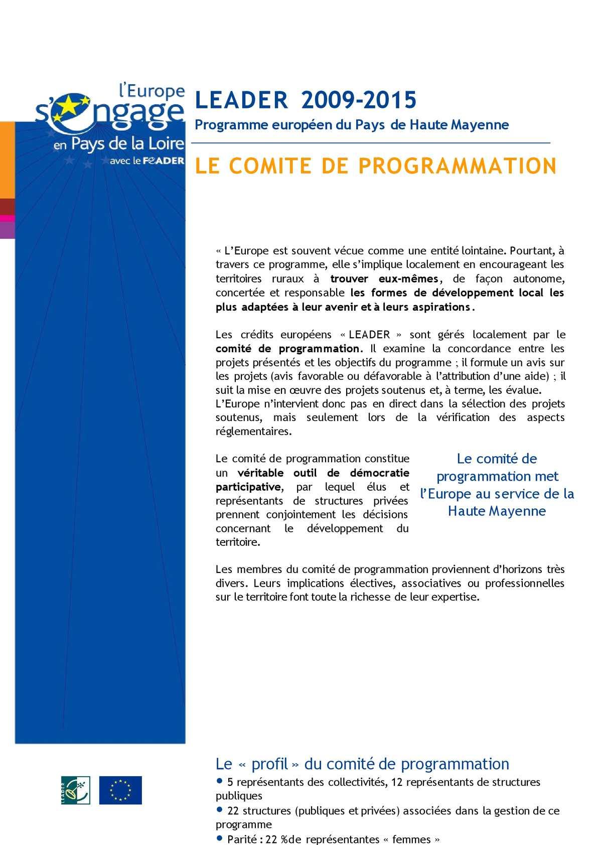 Trombinoscope LEADER - Pays de Haute Mayenne
