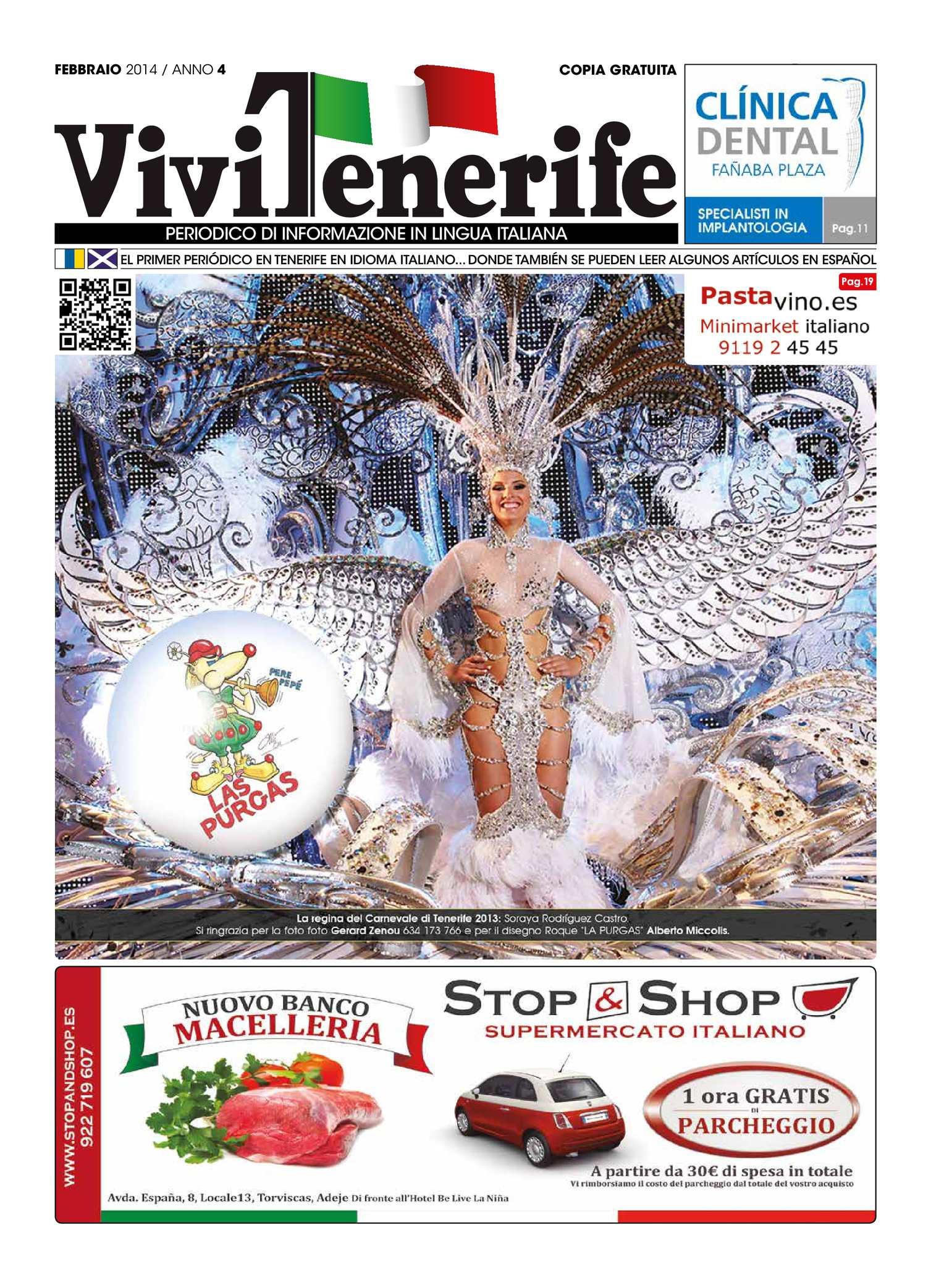 Calameo Febbraio 2014 Anno 4 Www Vivitenerife Com Il Primo Periodico A Tenerife Dove Si Possono Leggere Alcuni Articoli Anche In Spagnolo