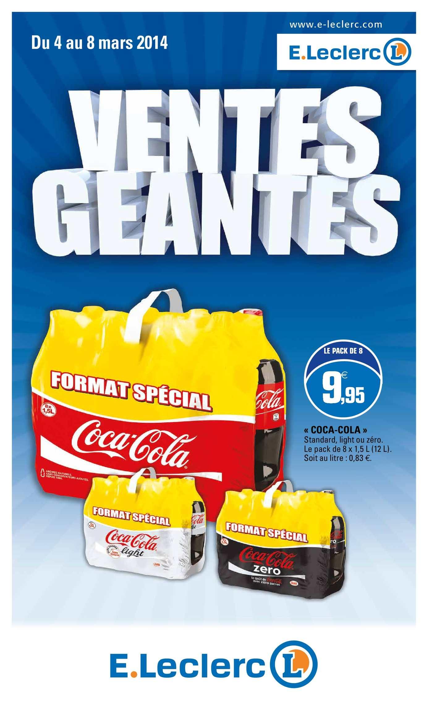 Calameo Catalogue E Leclerc Ventes Geantes 1 2014