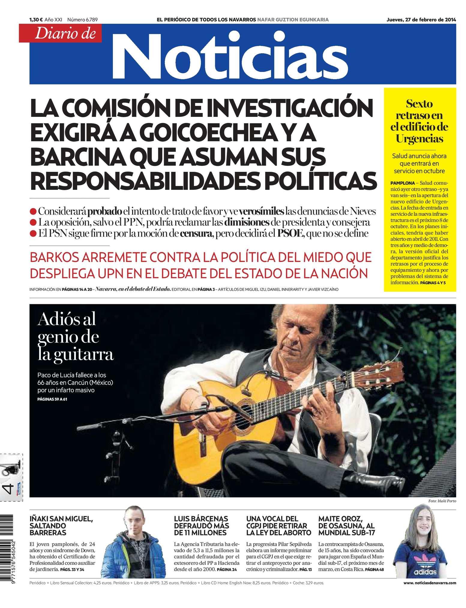 Calaméo Diario de Noticias 20140227