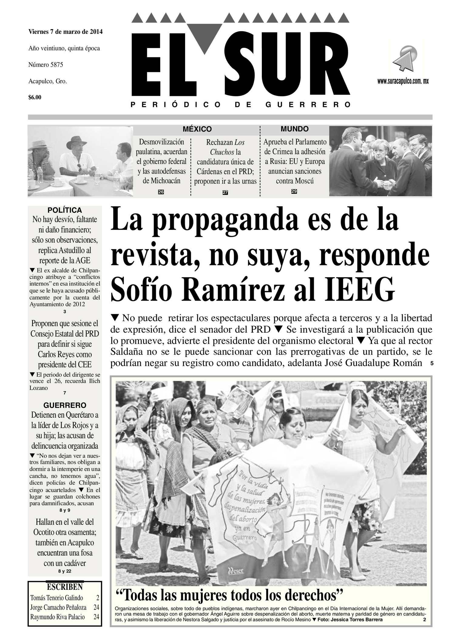 Calaméo El Sur Viernes 07032014 Pdf