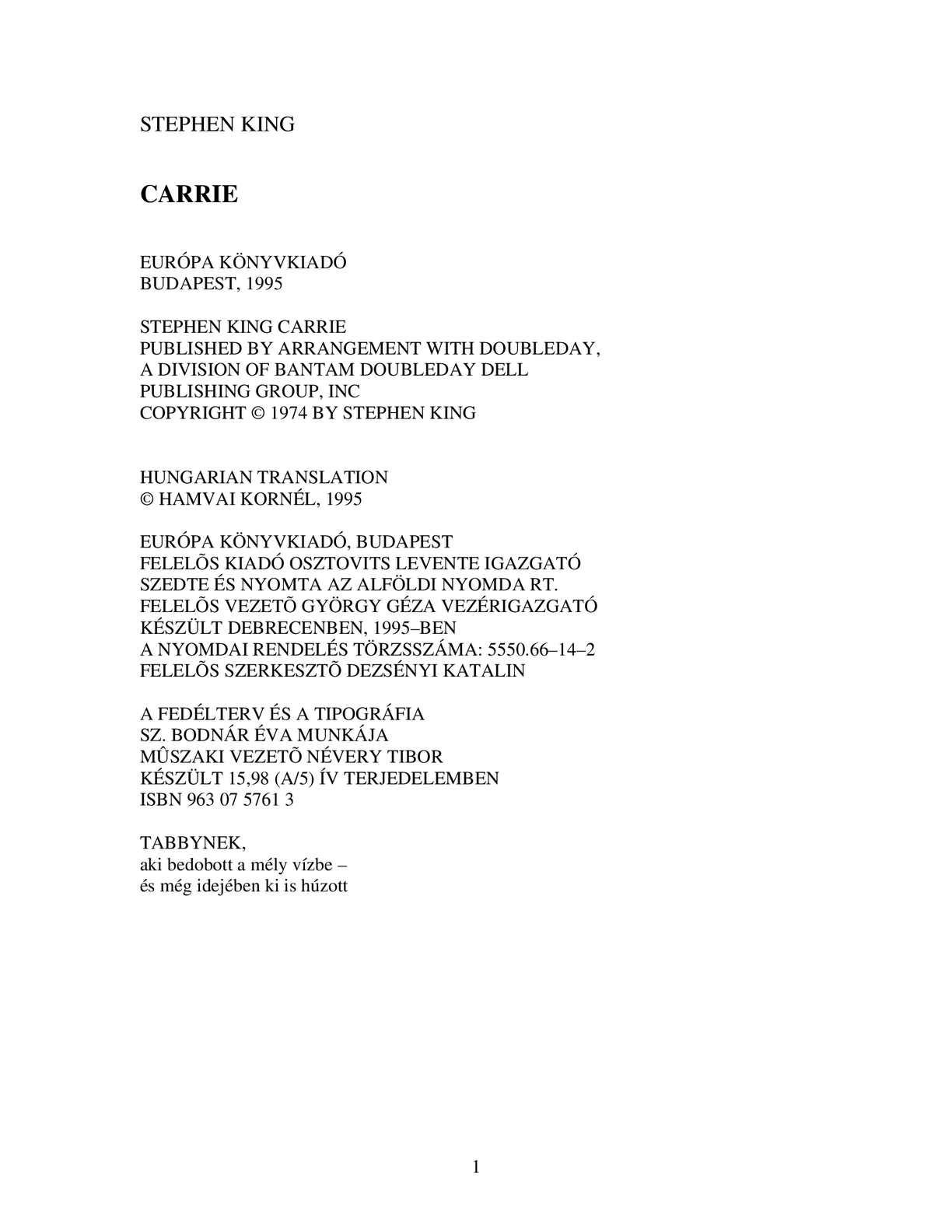 Calaméo - Stephen King - Carrie 23bff68179