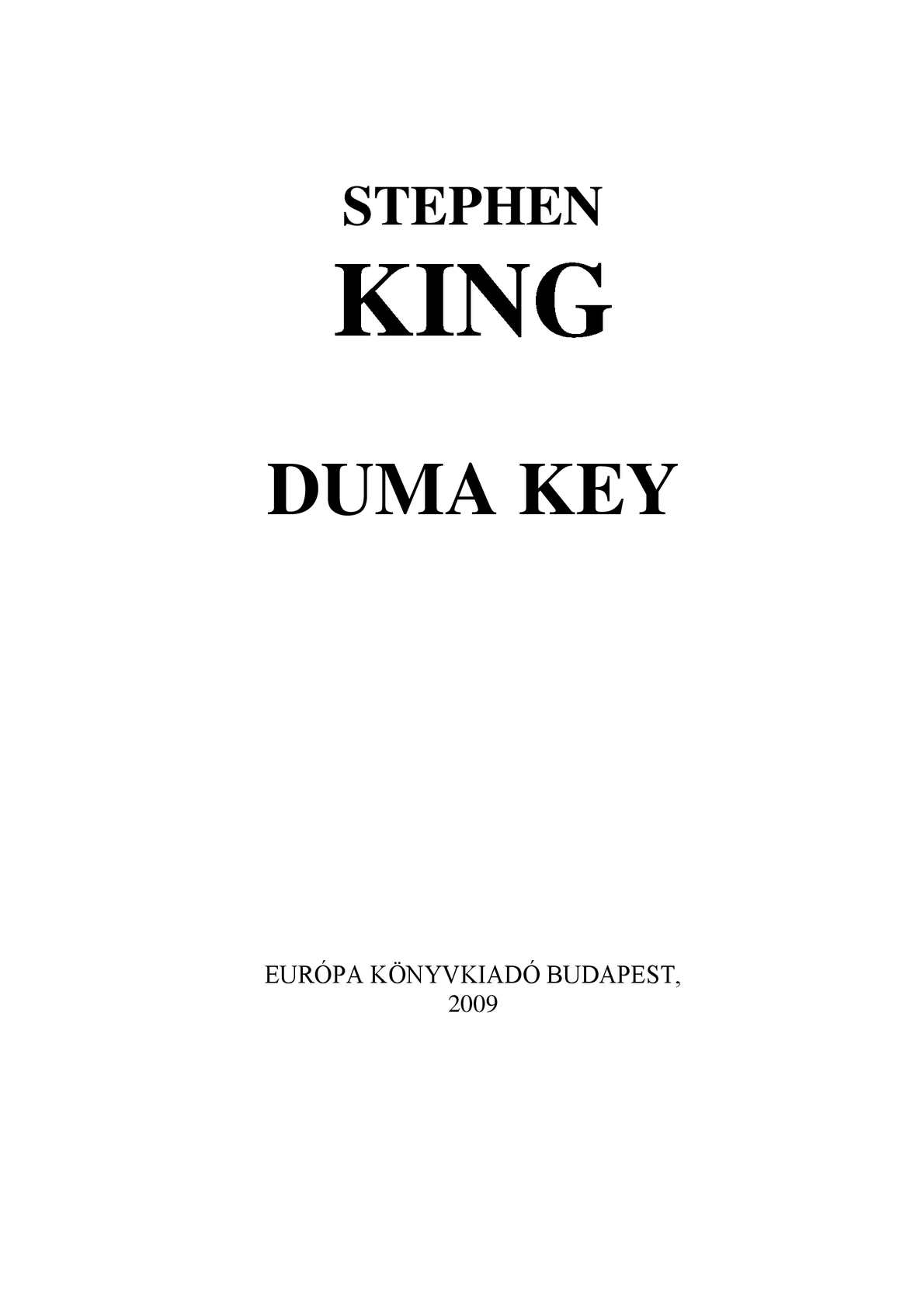 8c70af6cd4 Calaméo - Stephen King - Duma Key