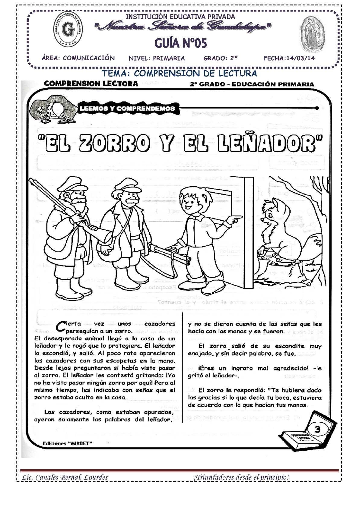 Calaméo - EL ZORRO Y EL LEÑADOR -C.L.