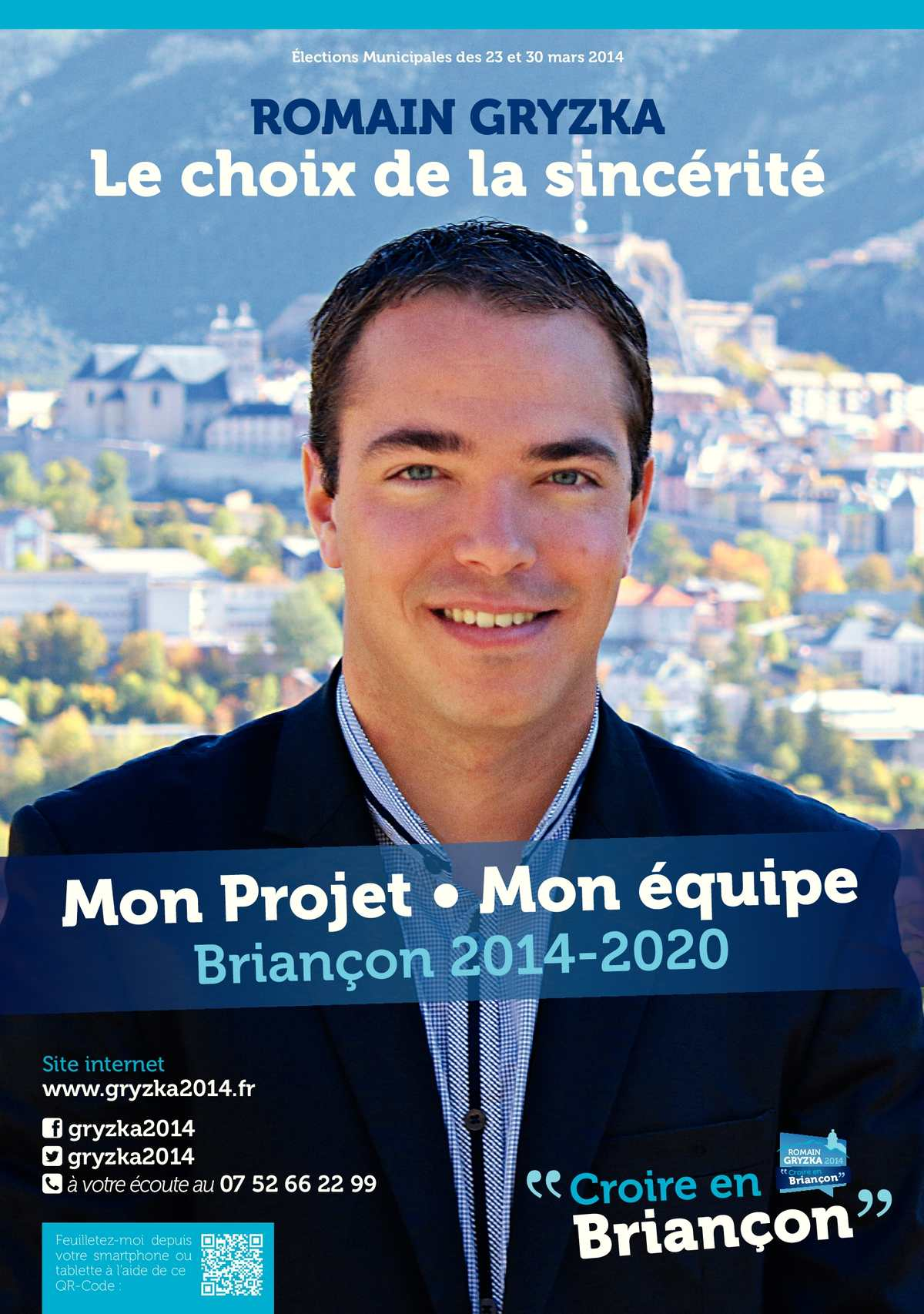 Romain Gryzka / Croire en Briançon : Mon projet - Mon équipe