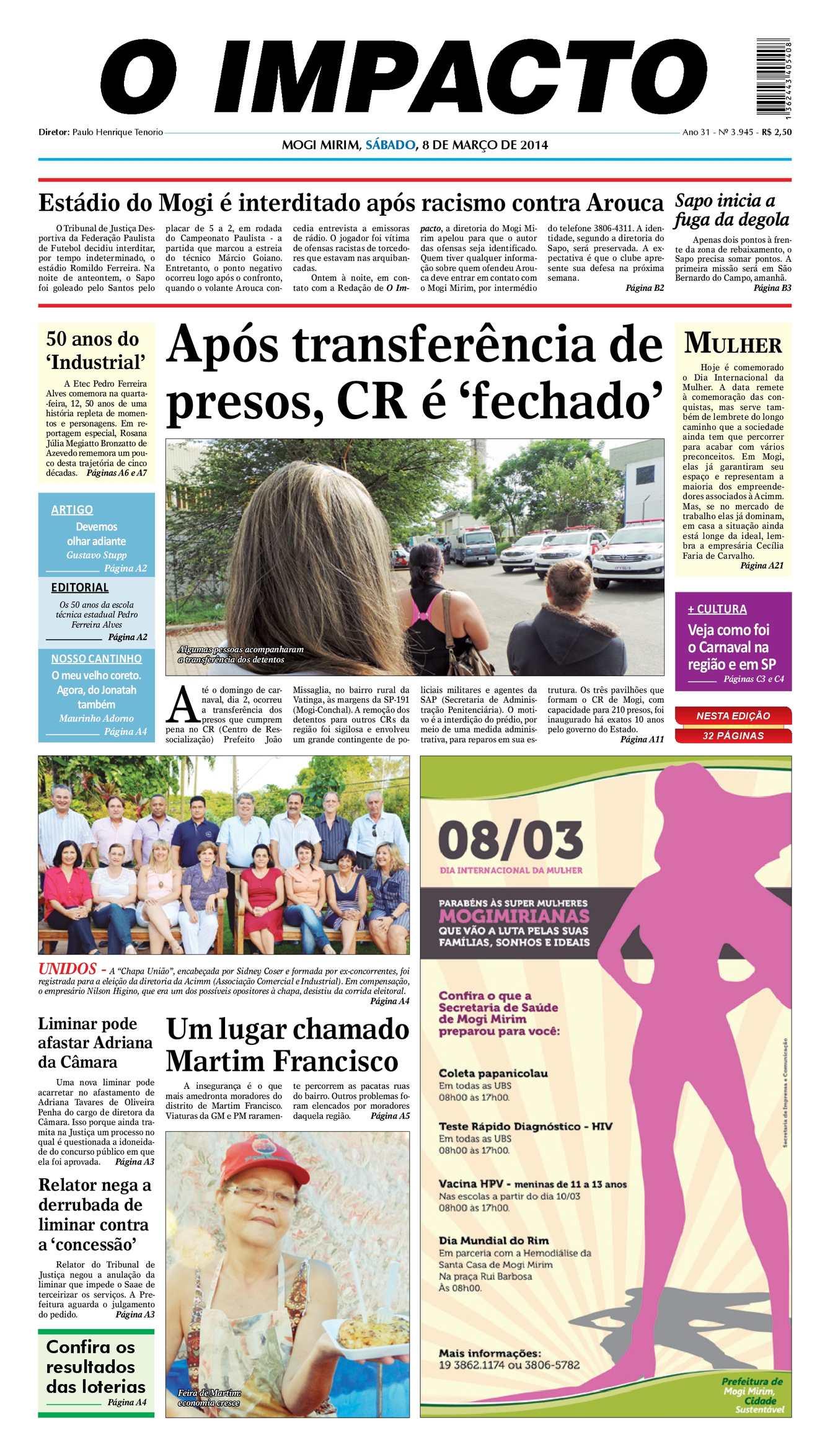 615e34e549 Calaméo - Edição 08 03 14