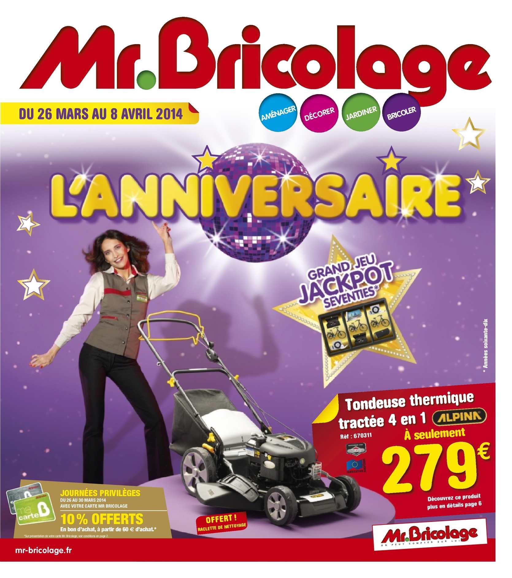 Calaméo Mr Bricolage Catalogue Anniversaire 12 Pages