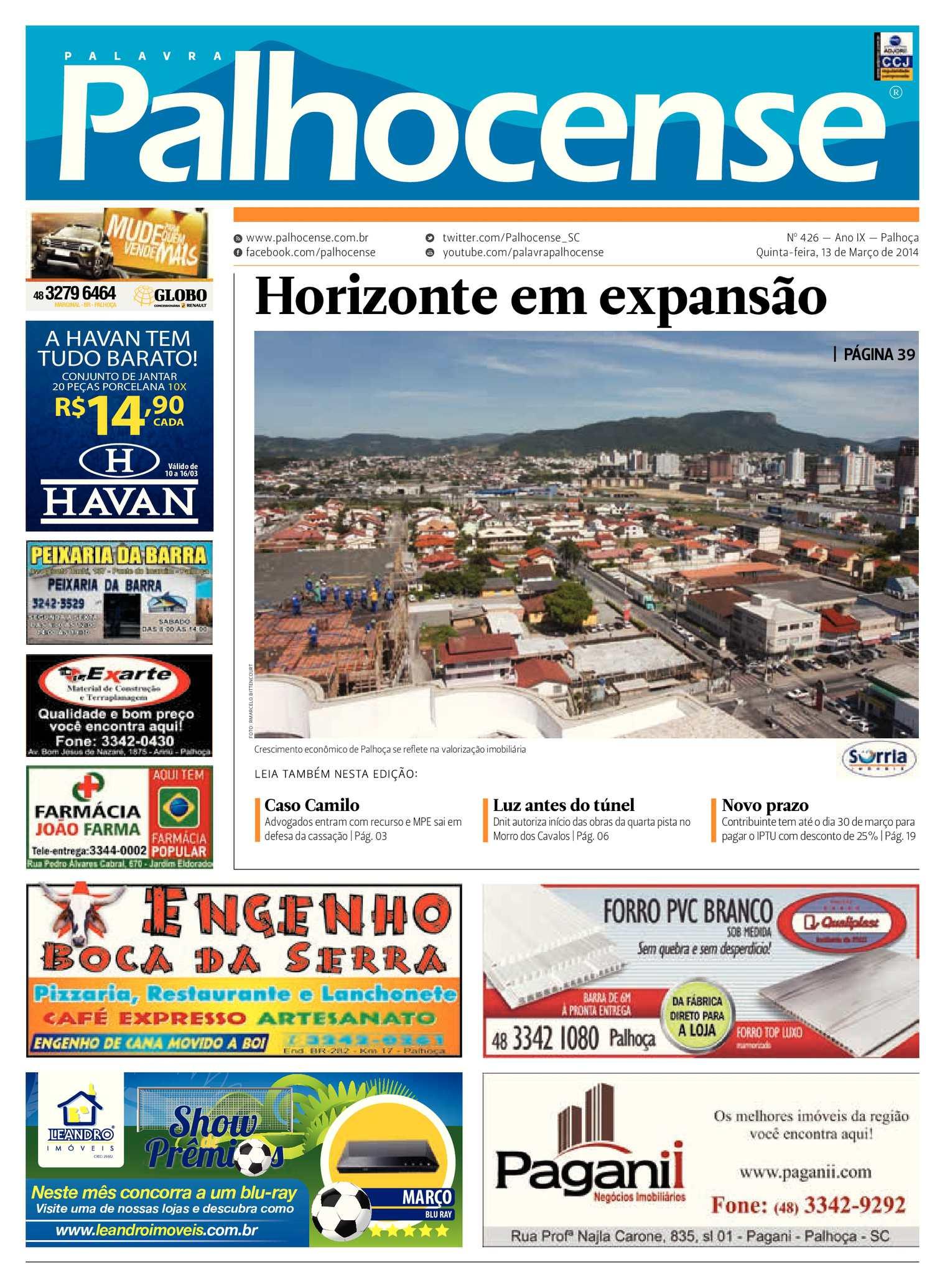 a41afa7ec9 Calaméo - Jornal Palavra Palhocense - Edição 426