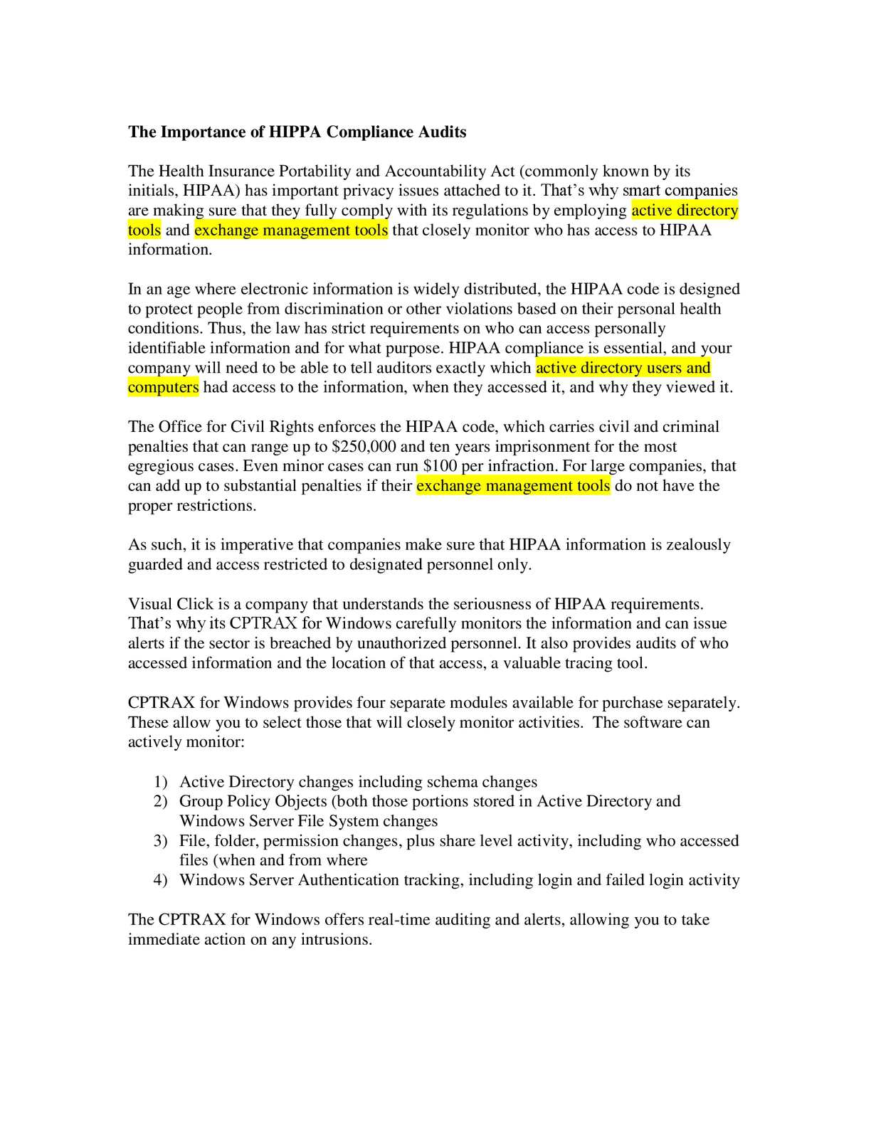 Calaméo - The Importance of HIPPA Compliance Audits