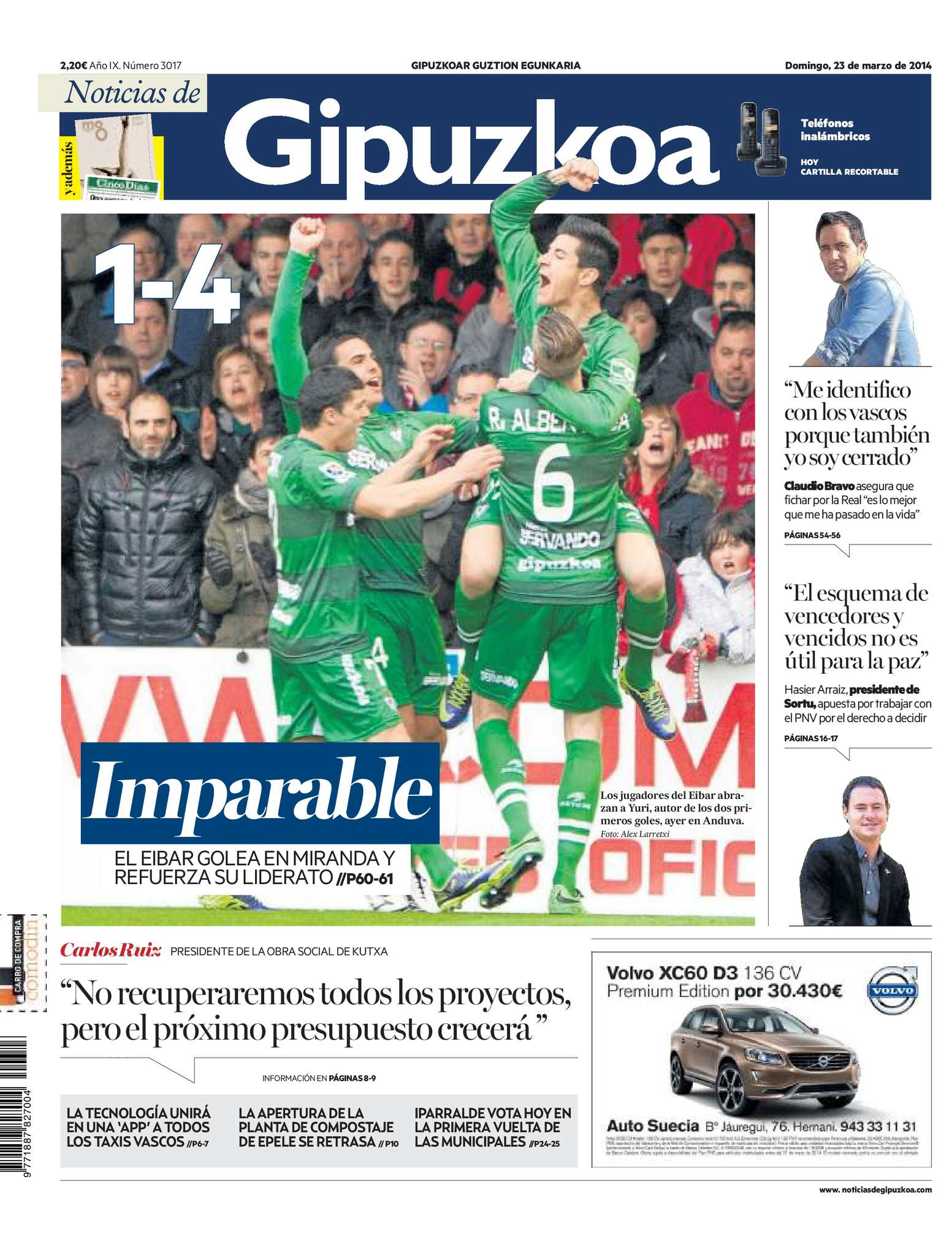 bcfafc20253 Calaméo - Noticias de Gipuzkoa 20140323