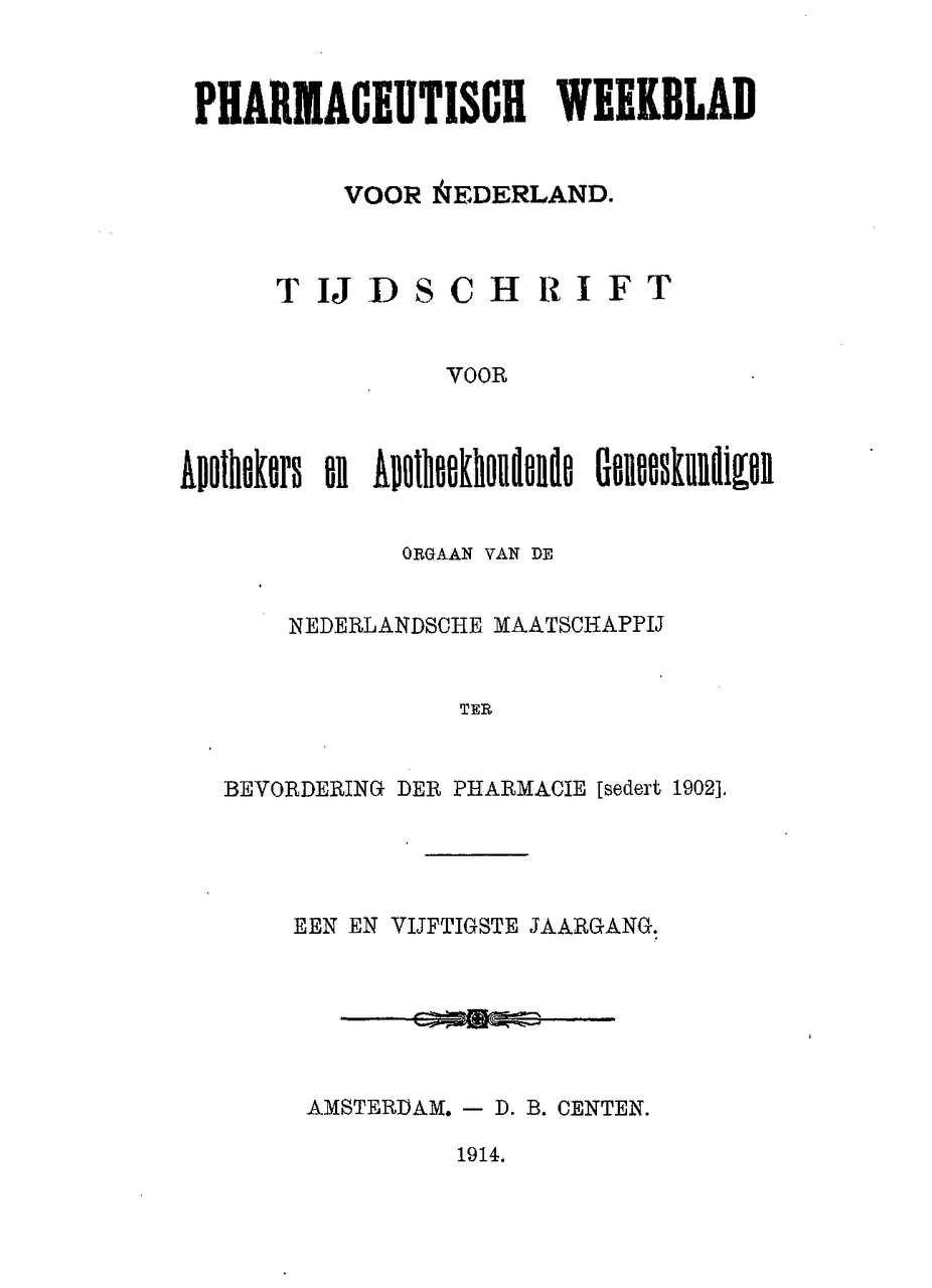 Calaméo 1914 Jaargang 51