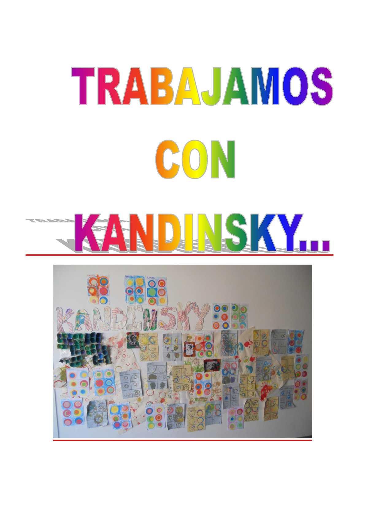 Calaméo Trabajamos Con Kandinsky