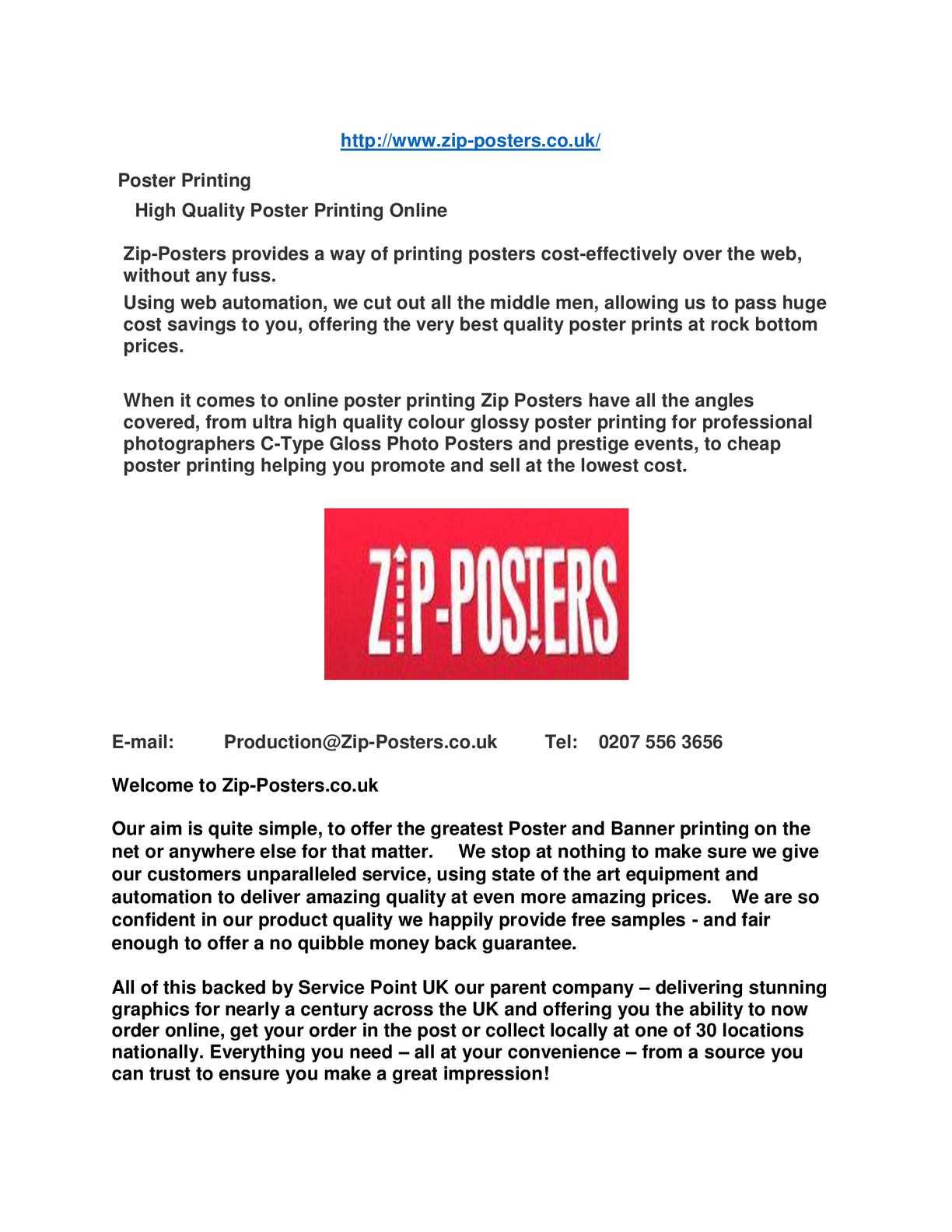 Calaméo - Cheap Poster Printing