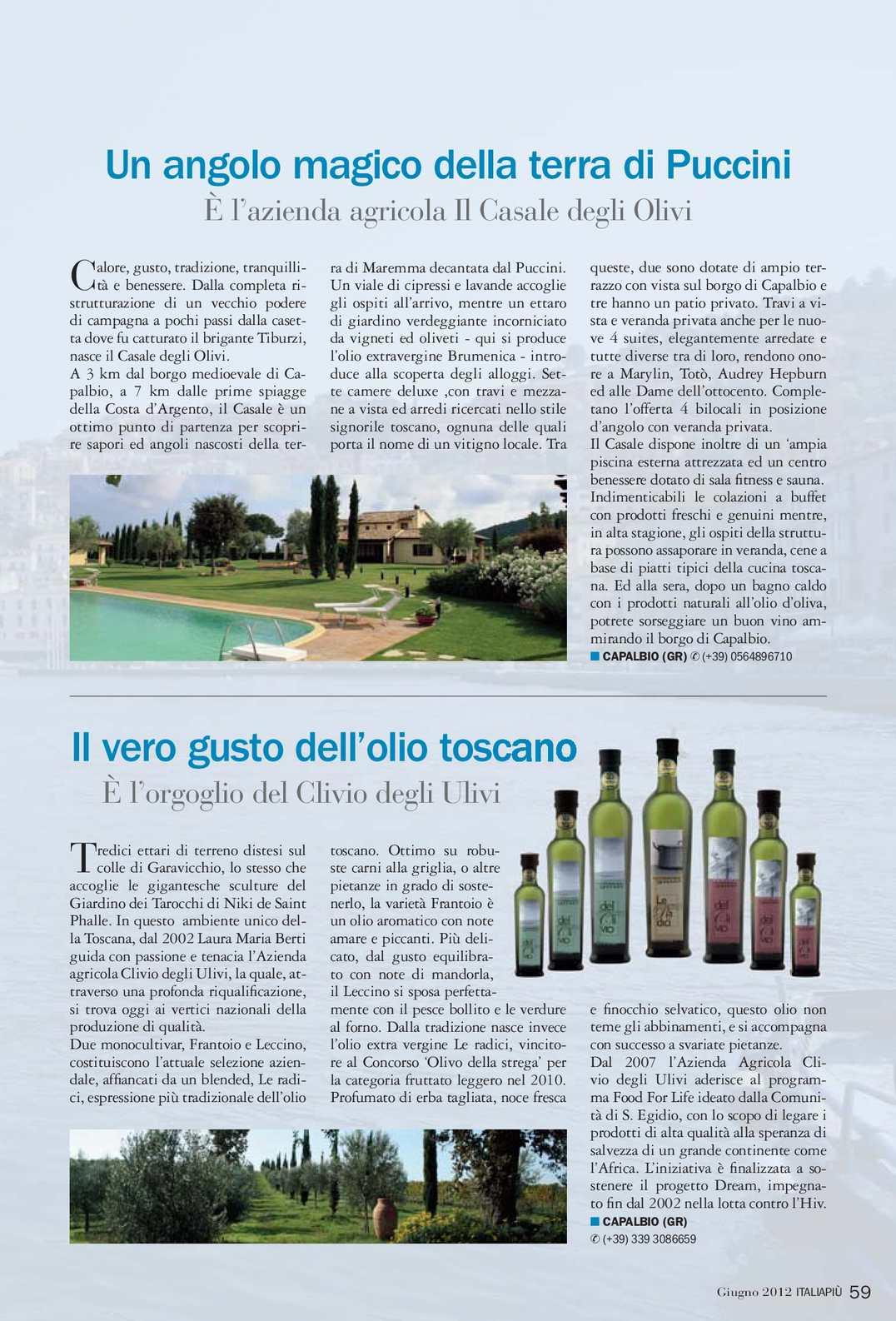 Azienda Agricola Porta Magenta italiapiù giugno 2012 - calameo downloader
