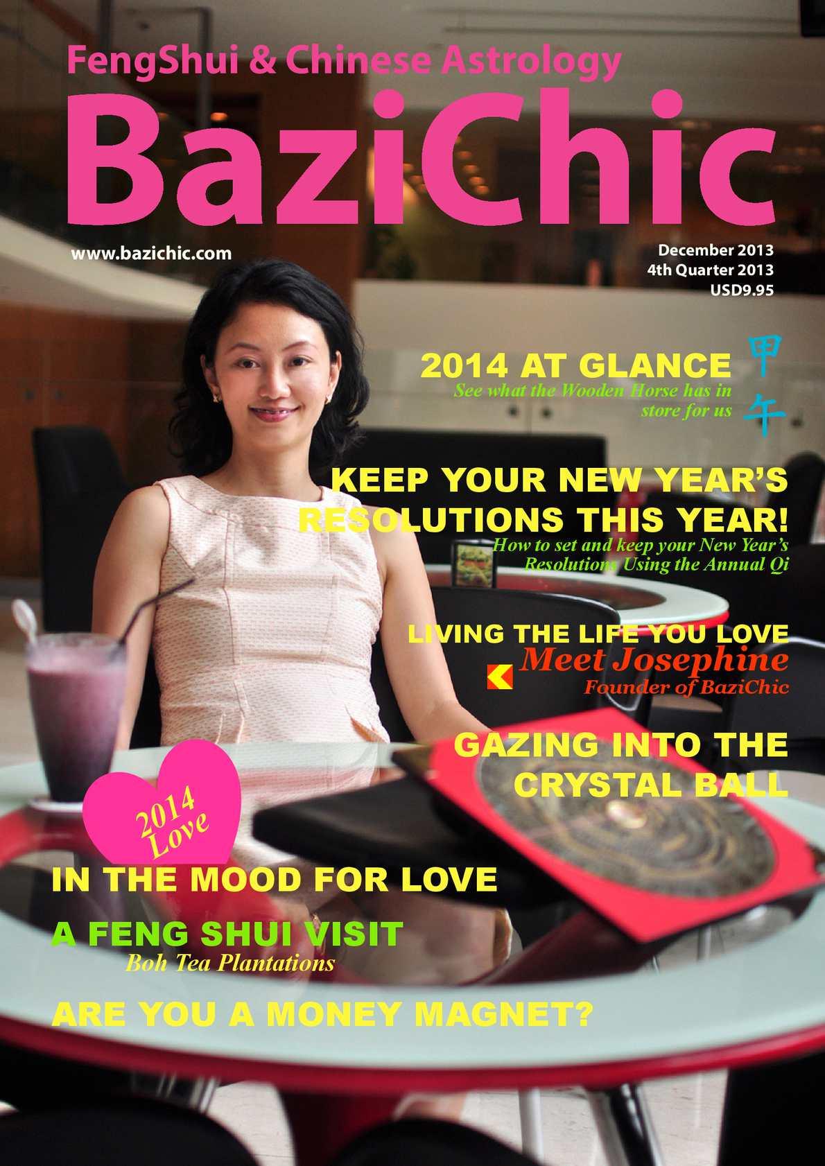Calaméo - BaziChic Digital Magazine December 2013 Issue