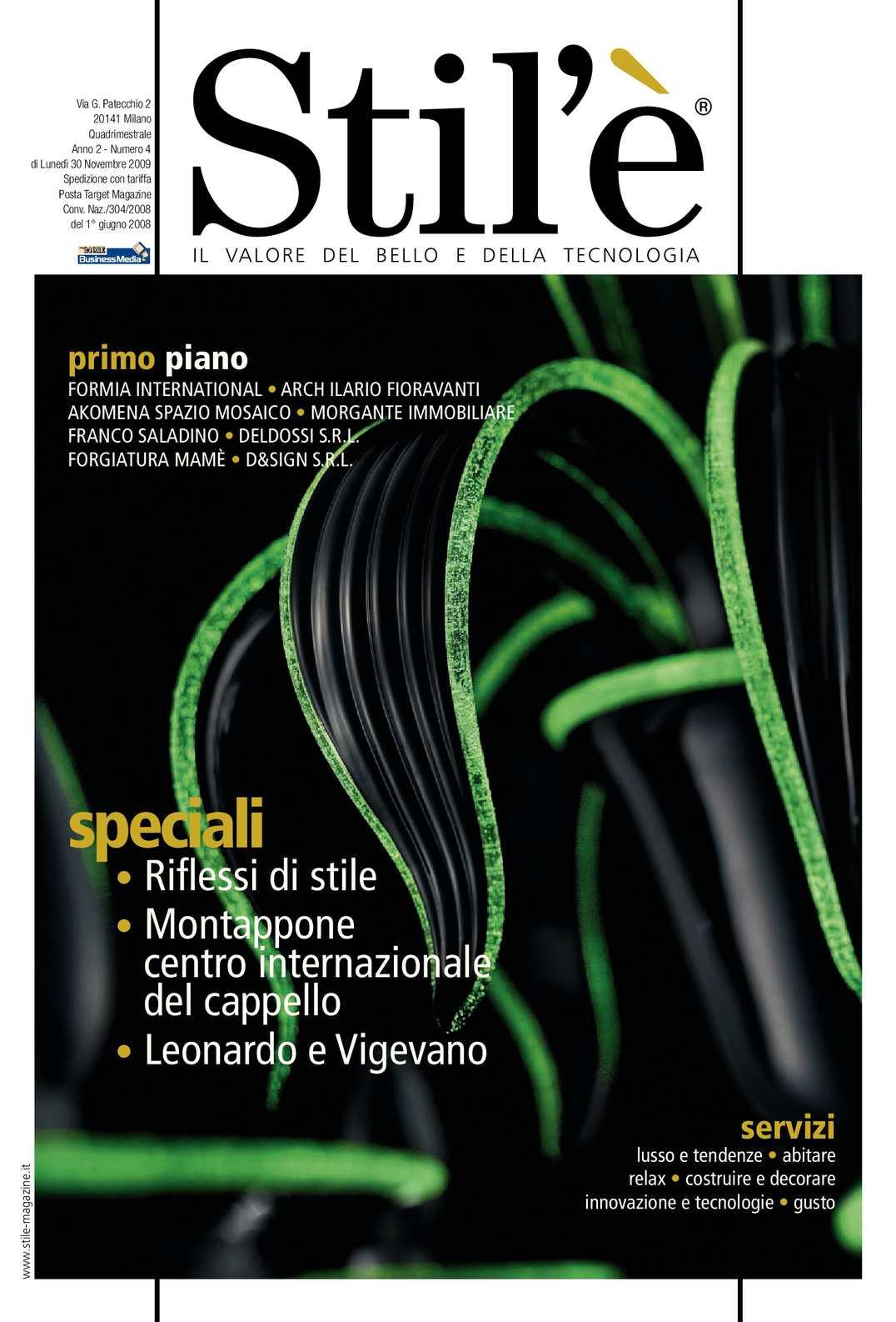 Stil Arredobagno Prata.Calameo Stil E Magazine Novembre 2009