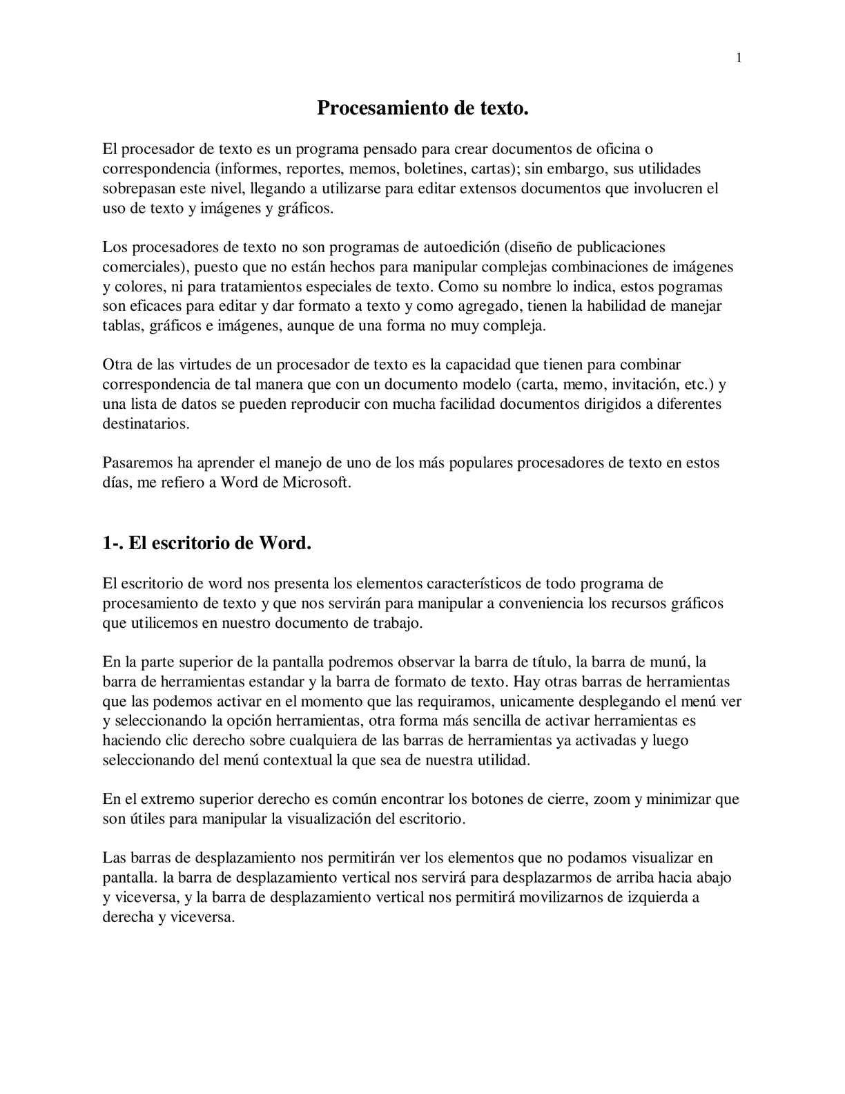 Calaméo Tutorial Word1