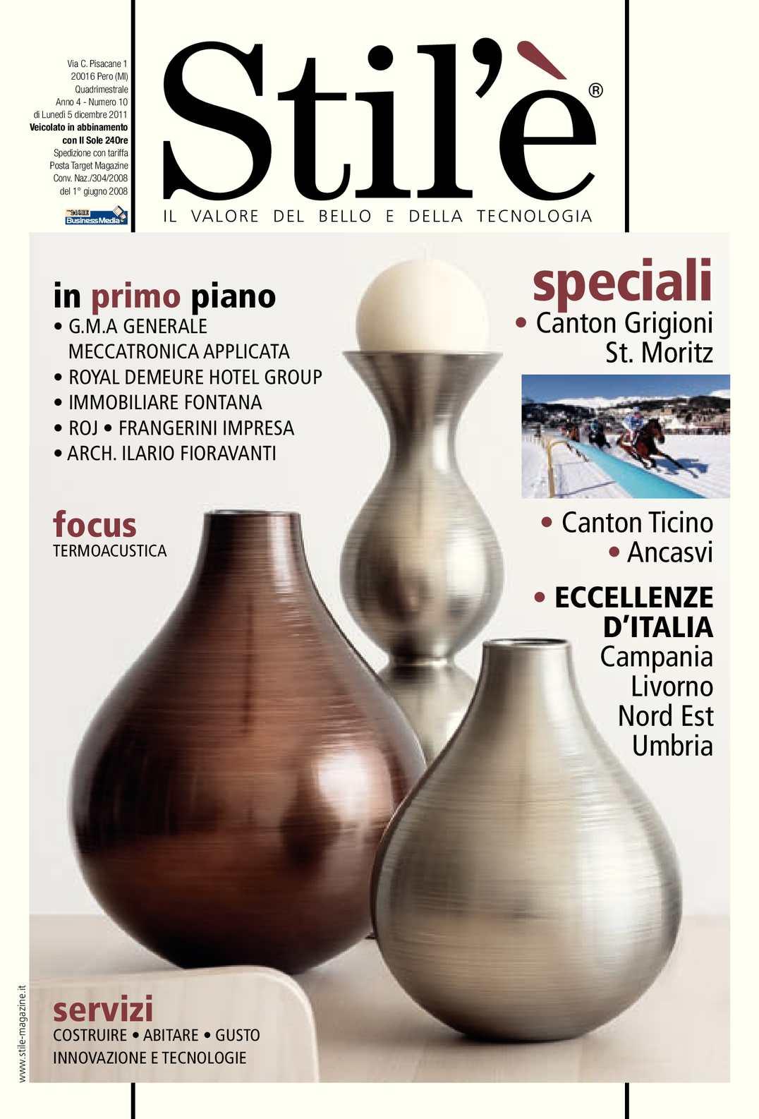 Calaméo - Stil è Magazine Dicembre 2011 aa7dcbf436f5
