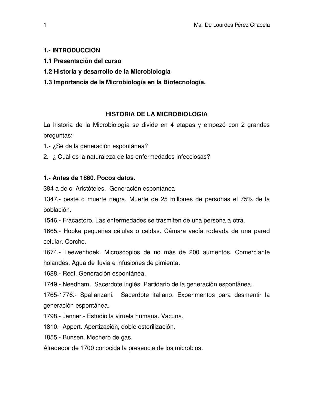 APUNTES DE MICROBIOLOGIA GENERAL