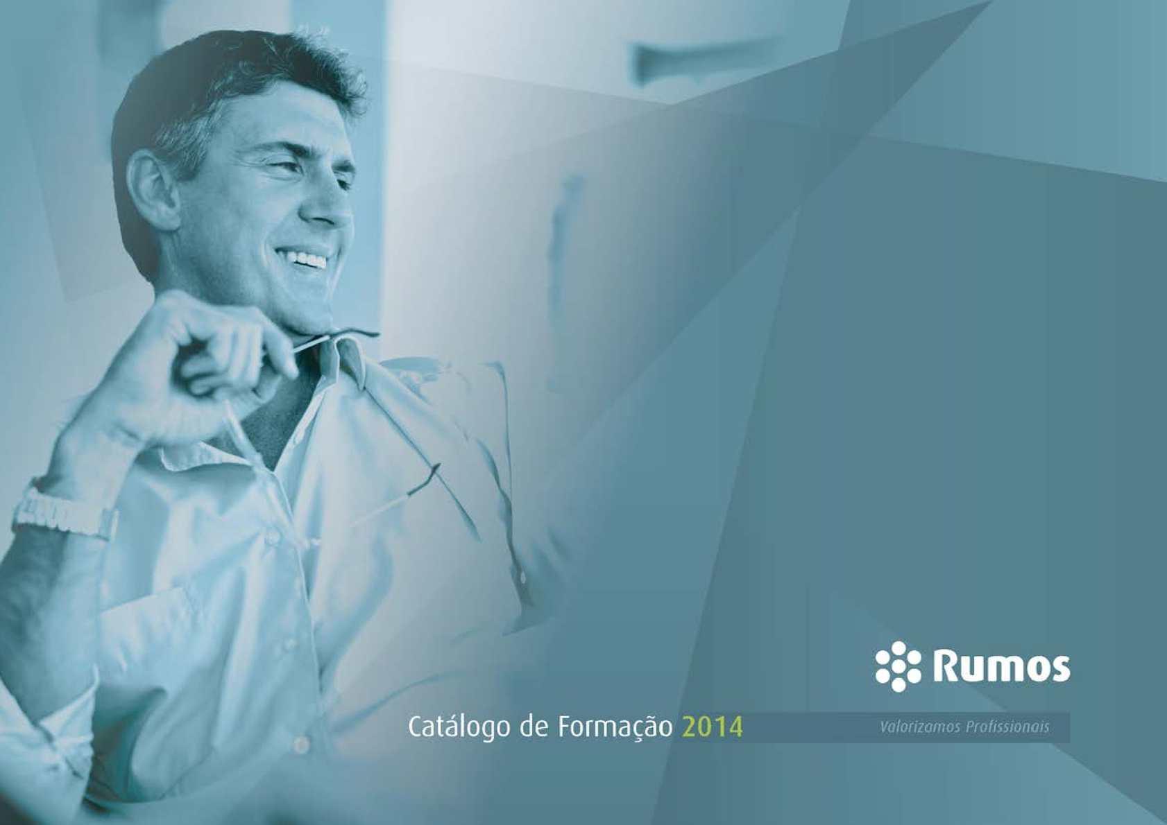 Calaméo - Catálogo Geral de Formação Rumos 2014