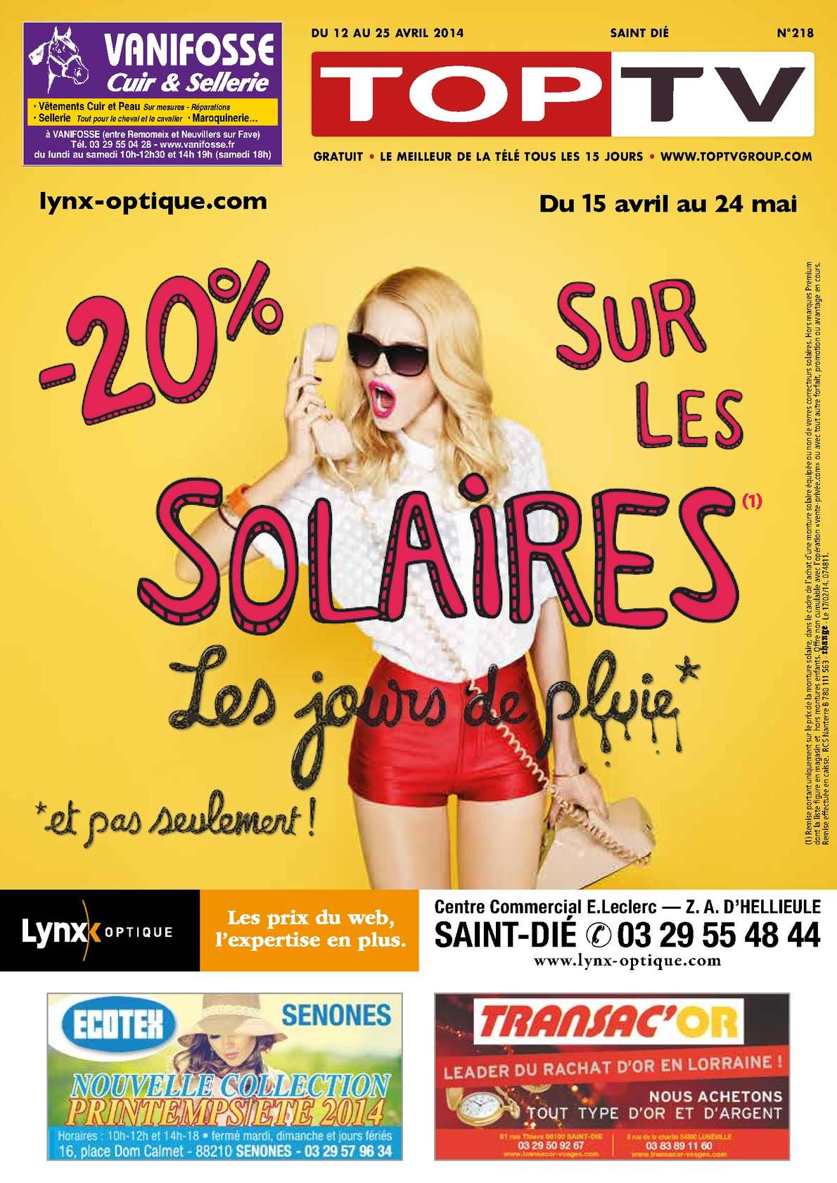 Calaméo - TopTV Saint-Dié 218 da24a74b9225