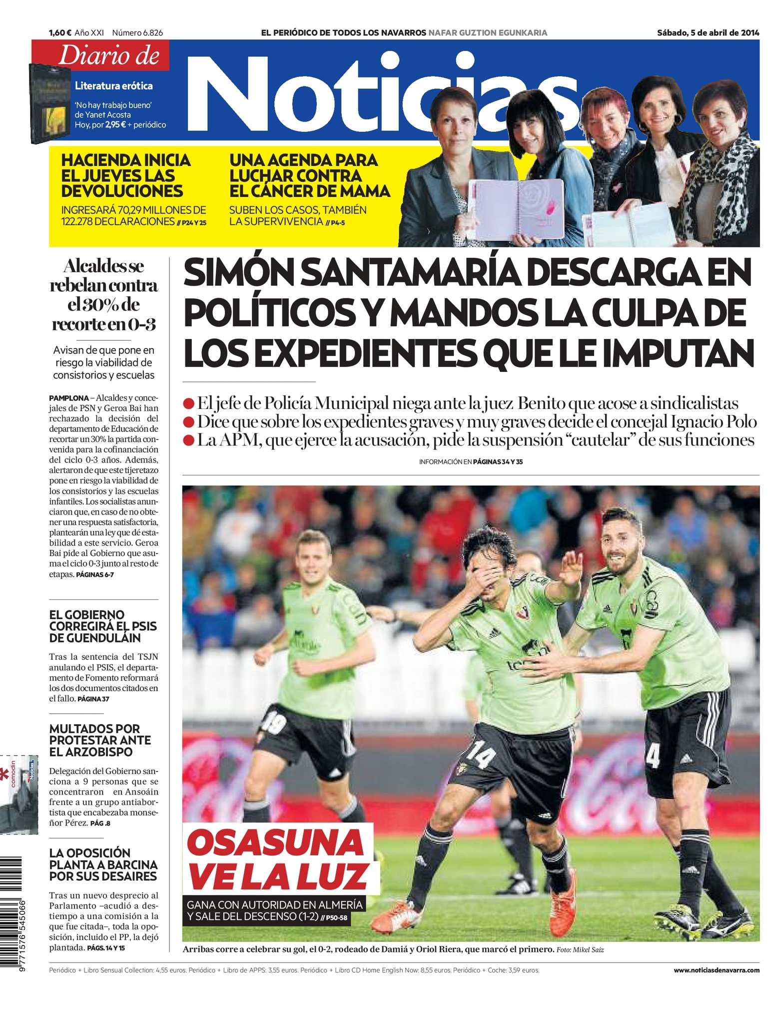 Calameo Diario De Noticias 20140405