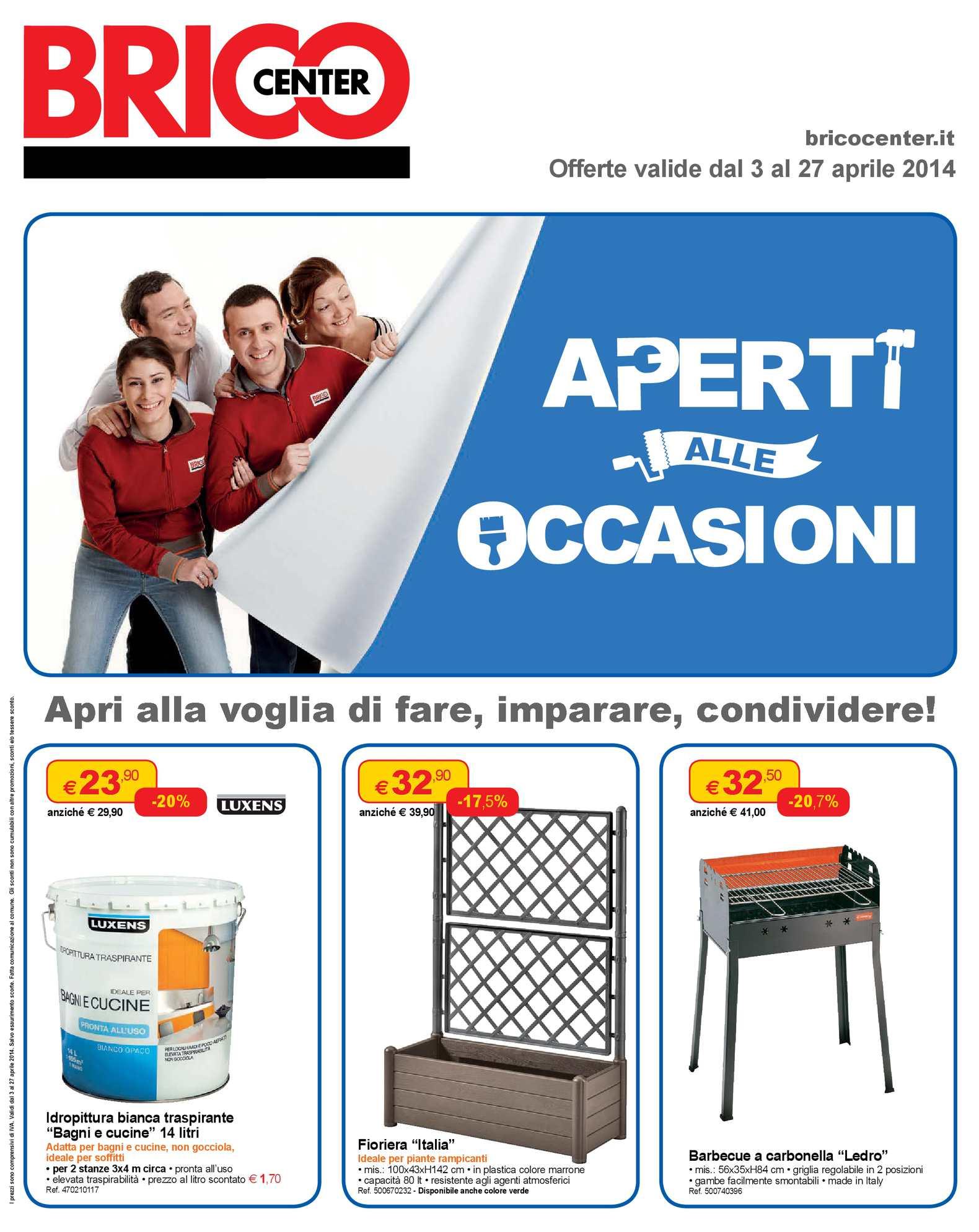 Calameo Volantino Bricocenter Affiliato 03 04 14 To 27 04 14