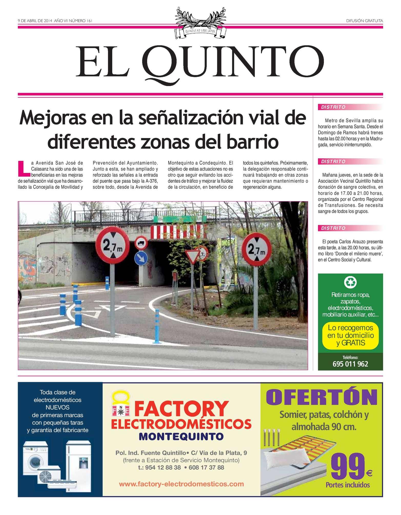 Calaméo - Periódico El Quinto nº 161 e5804cd5ca918