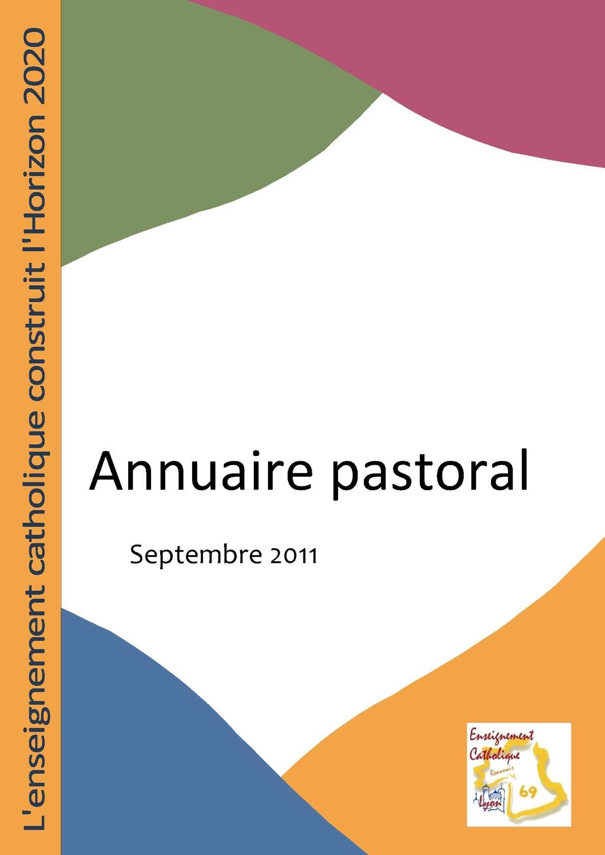 99e1ffc297c Calaméo - Annuaire pastoral 2011 pour les établissements catholiques de Lyon