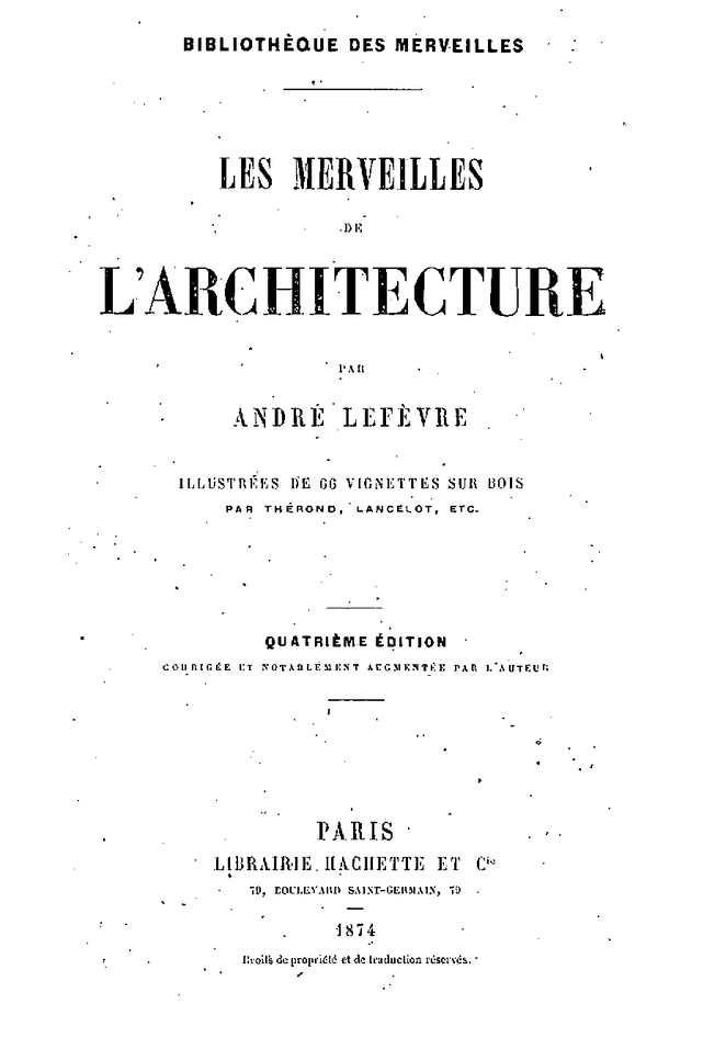 - 74 les merveilles de l'architecture -